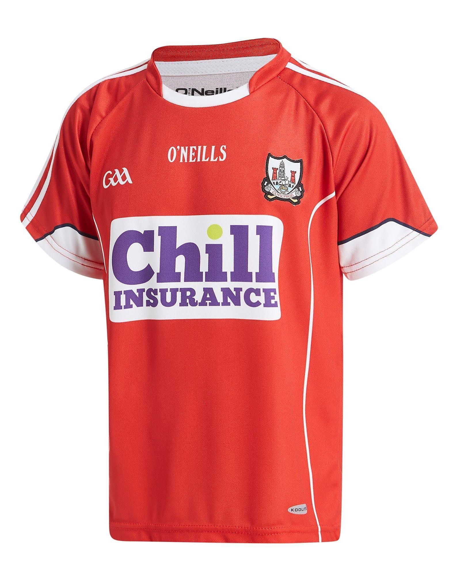 O'Neills Cork 2016 Home Shirt Junior