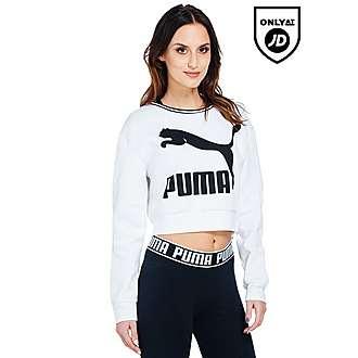 PUMA Fly Crop Sweatshirt