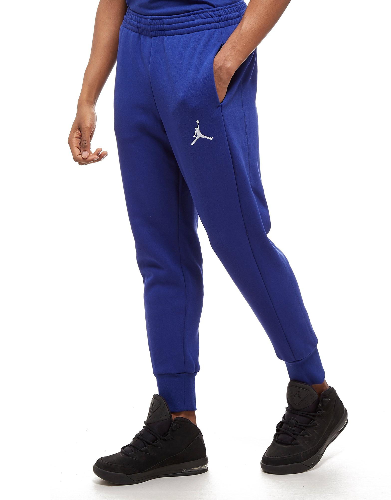Jordan Flight Fleece Hosen Blau