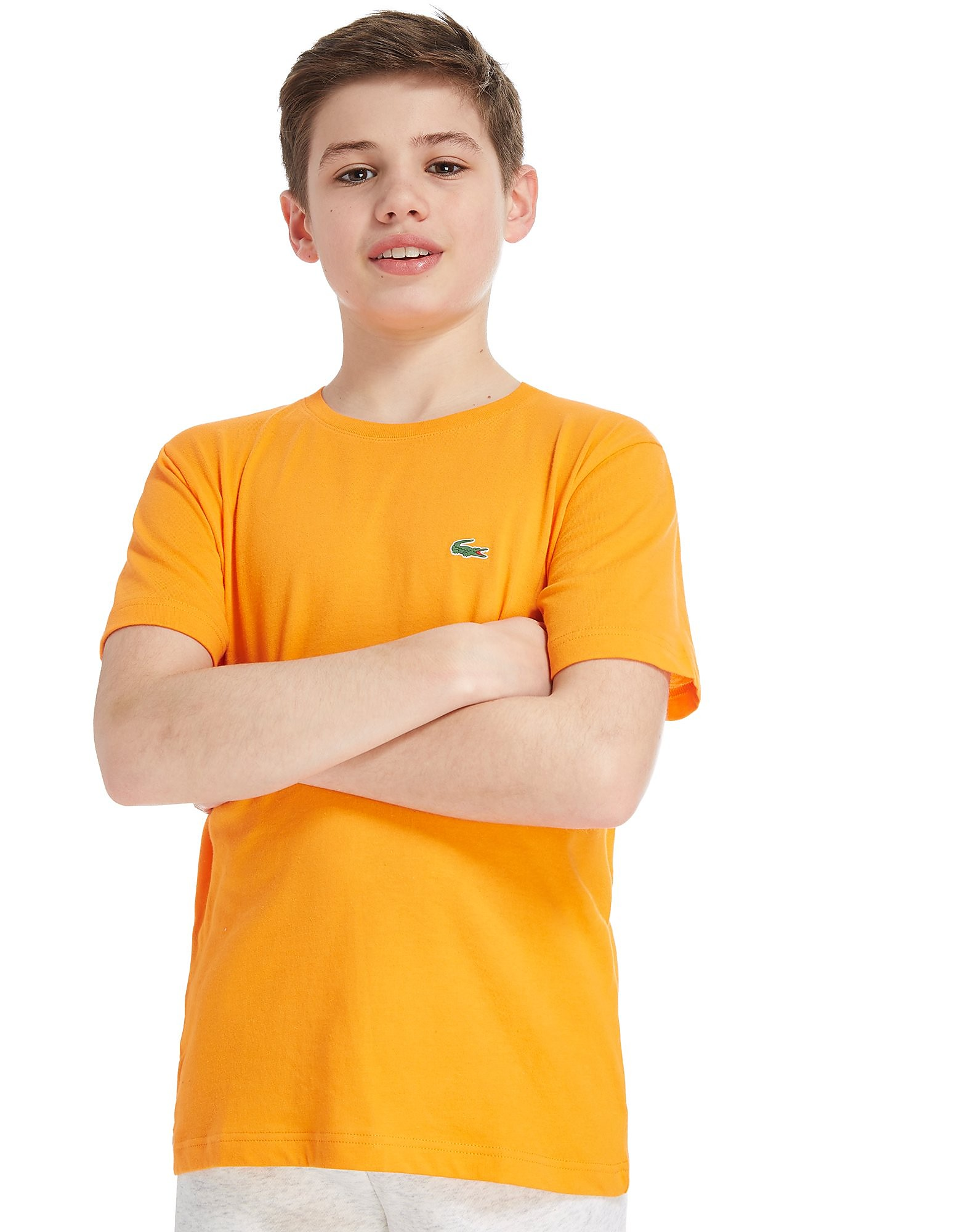 Lacoste Small Logo T-Shirt Junior - Oranje - Kind