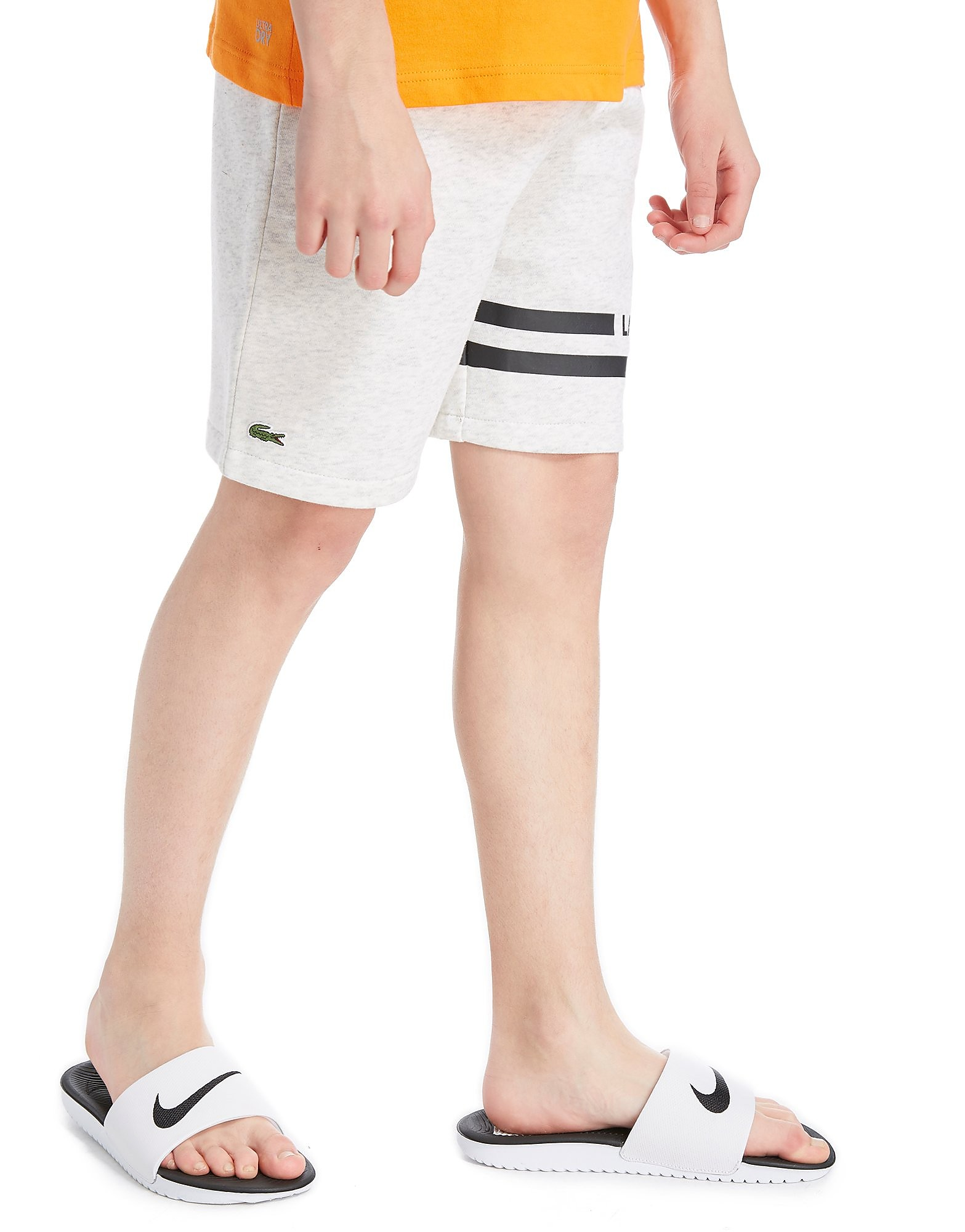 Lacoste Fleece Shorts Junior - Grijs - Kind
