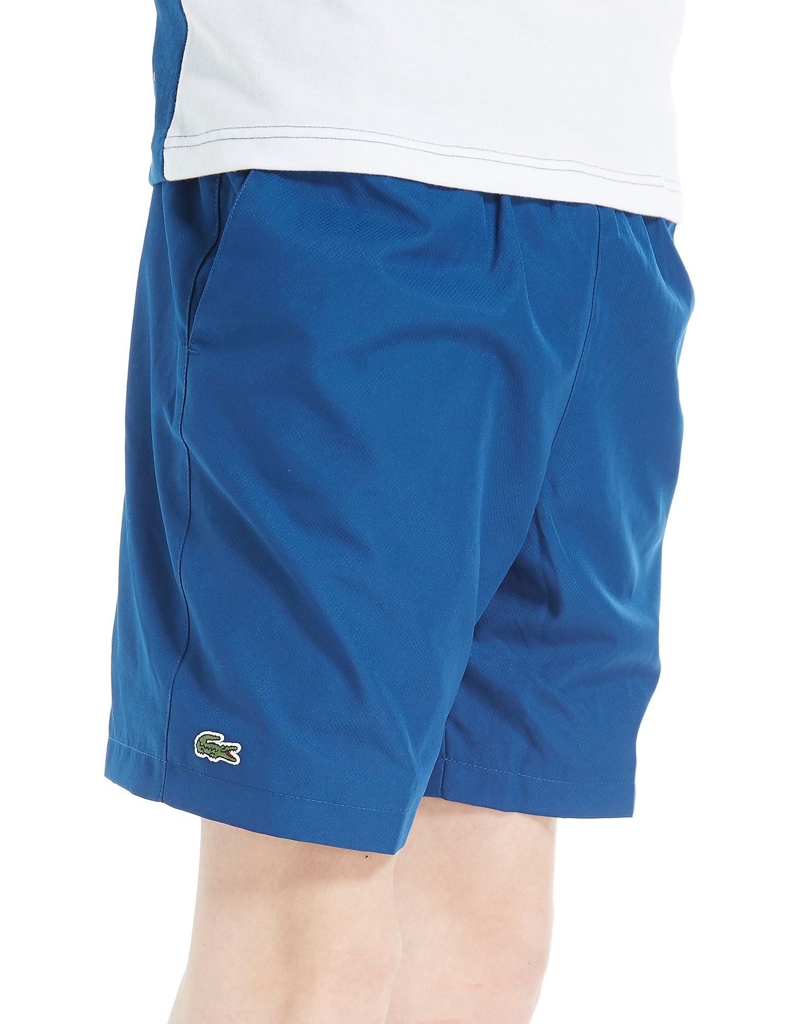 Lacoste Woven Shorts Junior - Blauw - Kind