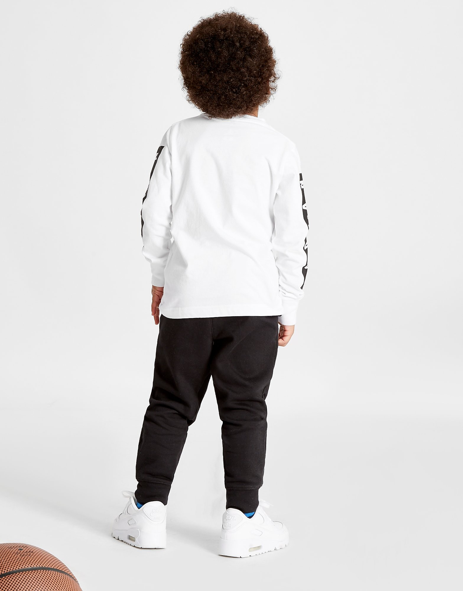 Jordan Cement Long Sleeve 2 Piece Set Children