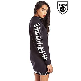 Supply & Demand Barcode Sweater Dress