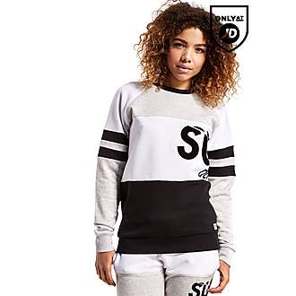 Supply & Demand Split Block Crew Sweatshirt