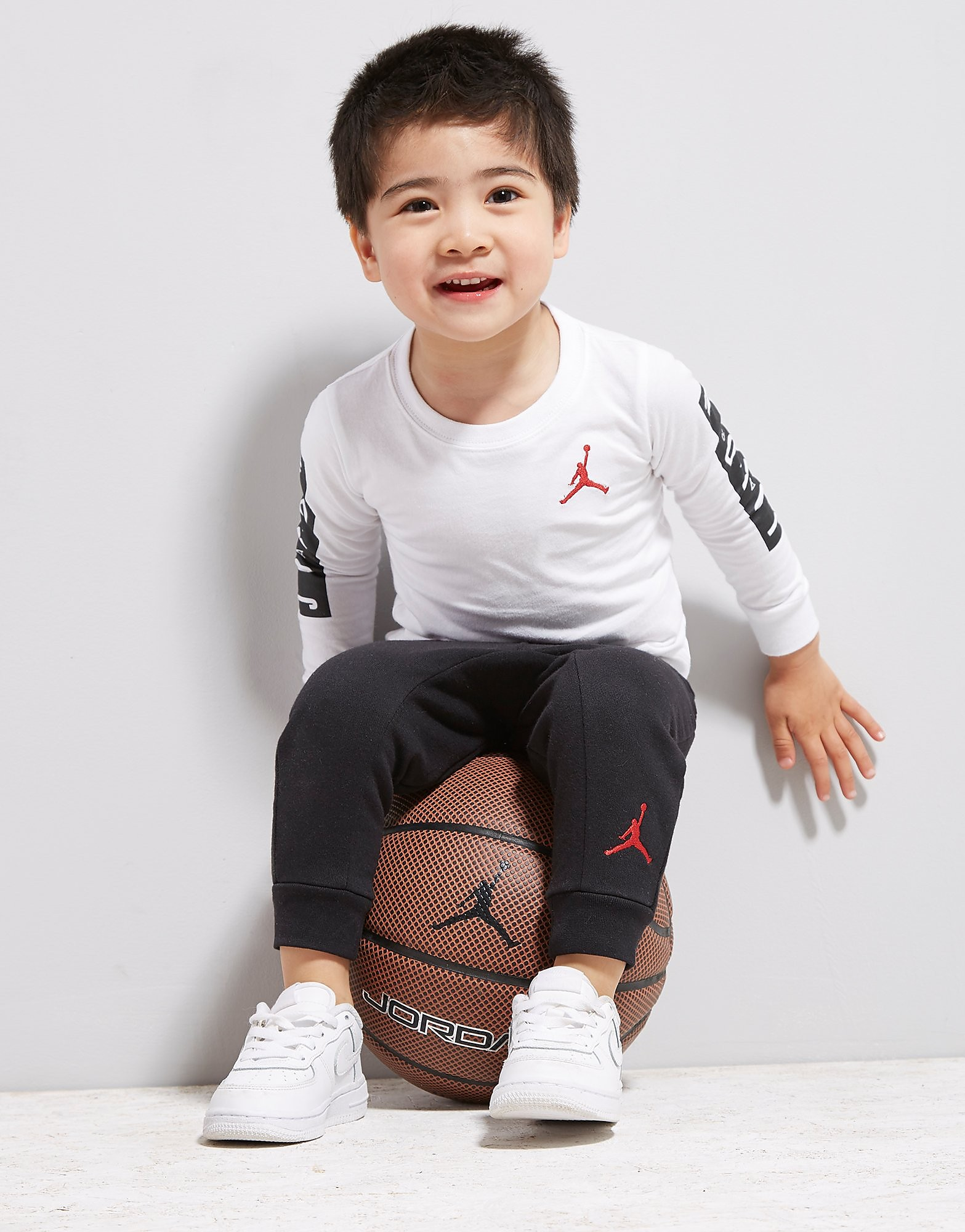 Jordan Cement Long Sleeve 2 Piece Set Infant