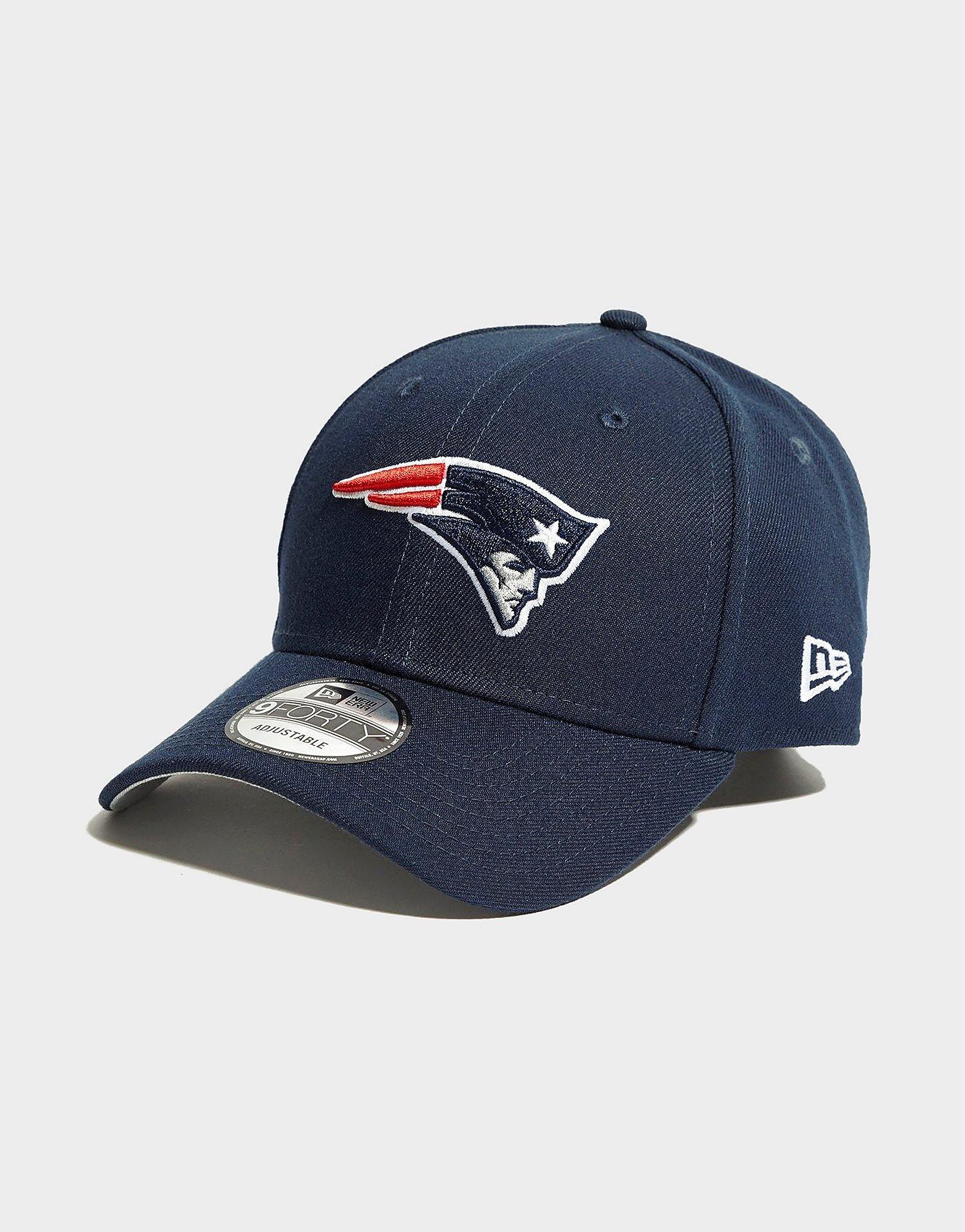 New Era 9FORTY NFL New England Patriots-pet - Blauw - Heren