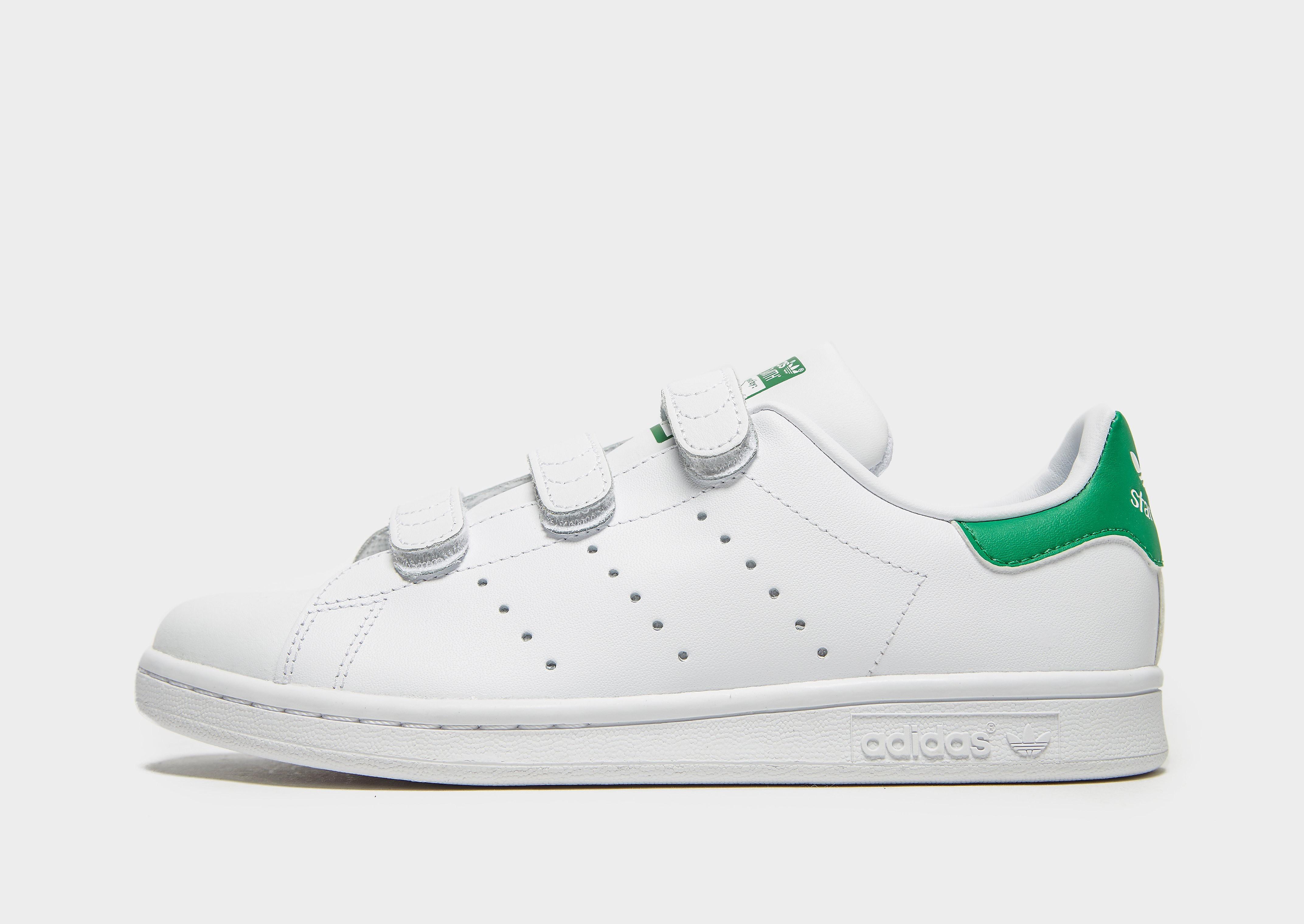 Adidas Stan Smith kindersneaker wit en groen