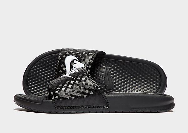 Nike Benassi Just Do It Slides Women's, White