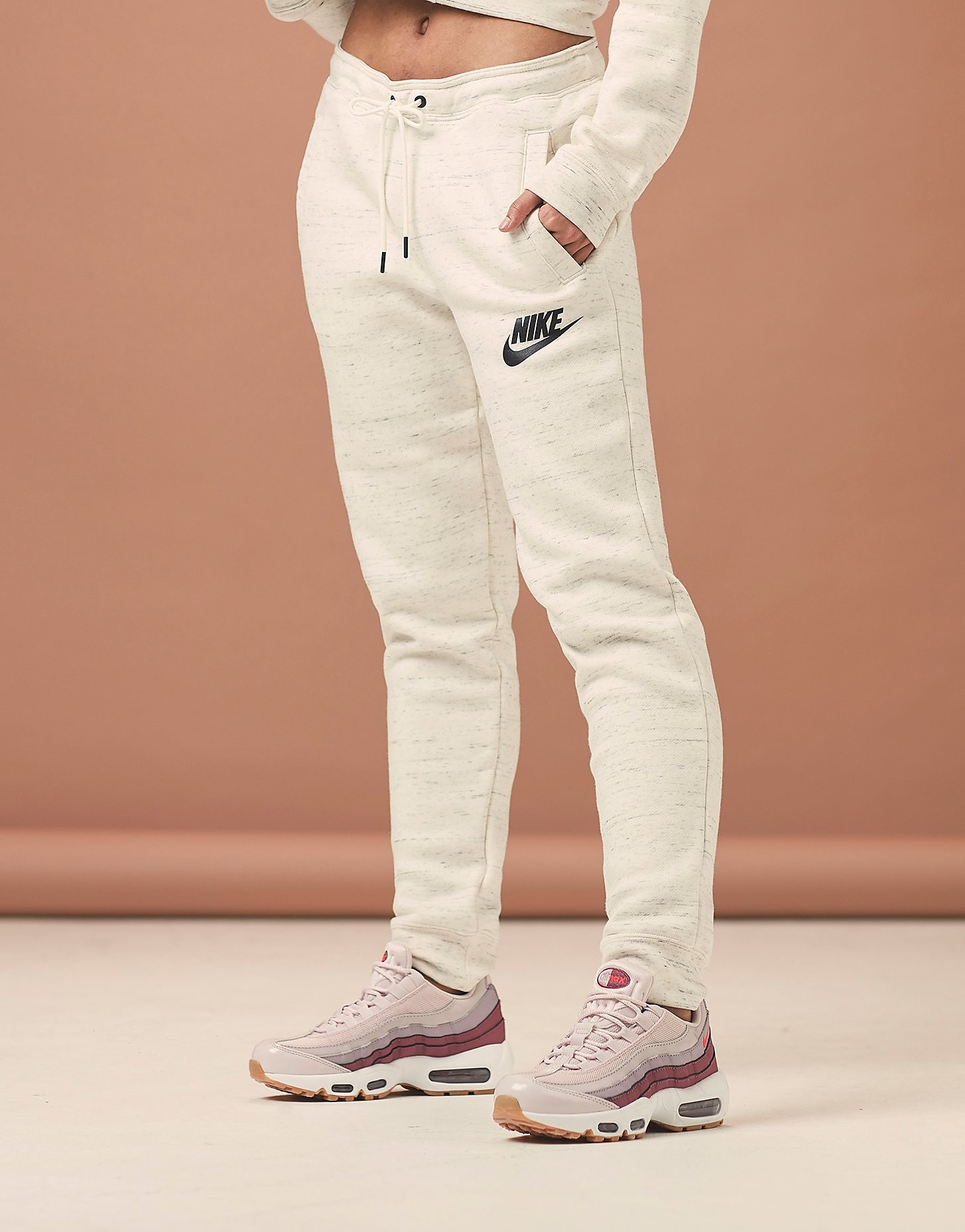 Nike Rally Jogger - Only at JD - Cream, Cream