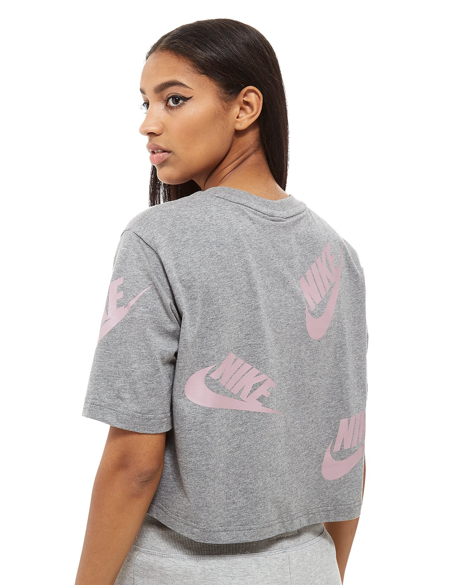 Nike Futura All-Over-Print Crop Top