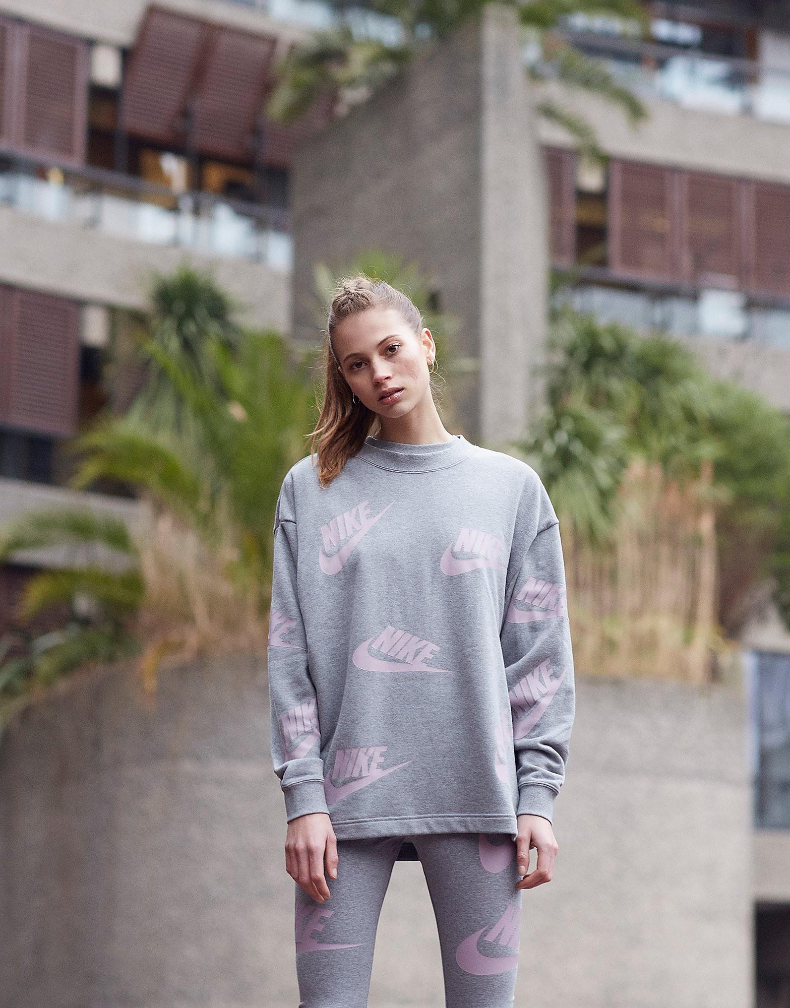 Nike Futura All Over Print Crew Sweatshirt