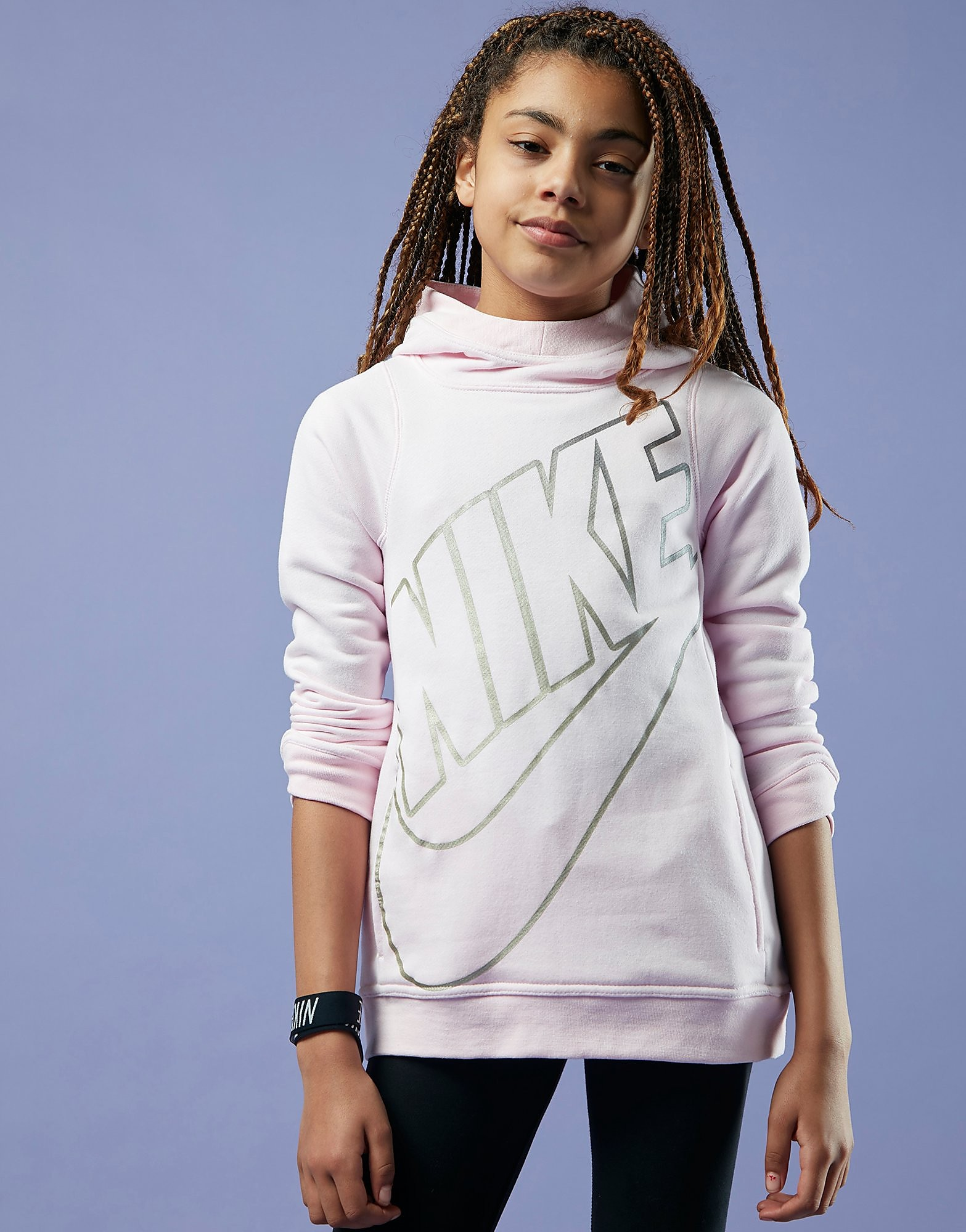 Nike Girls' Futura Hoodie Junior
