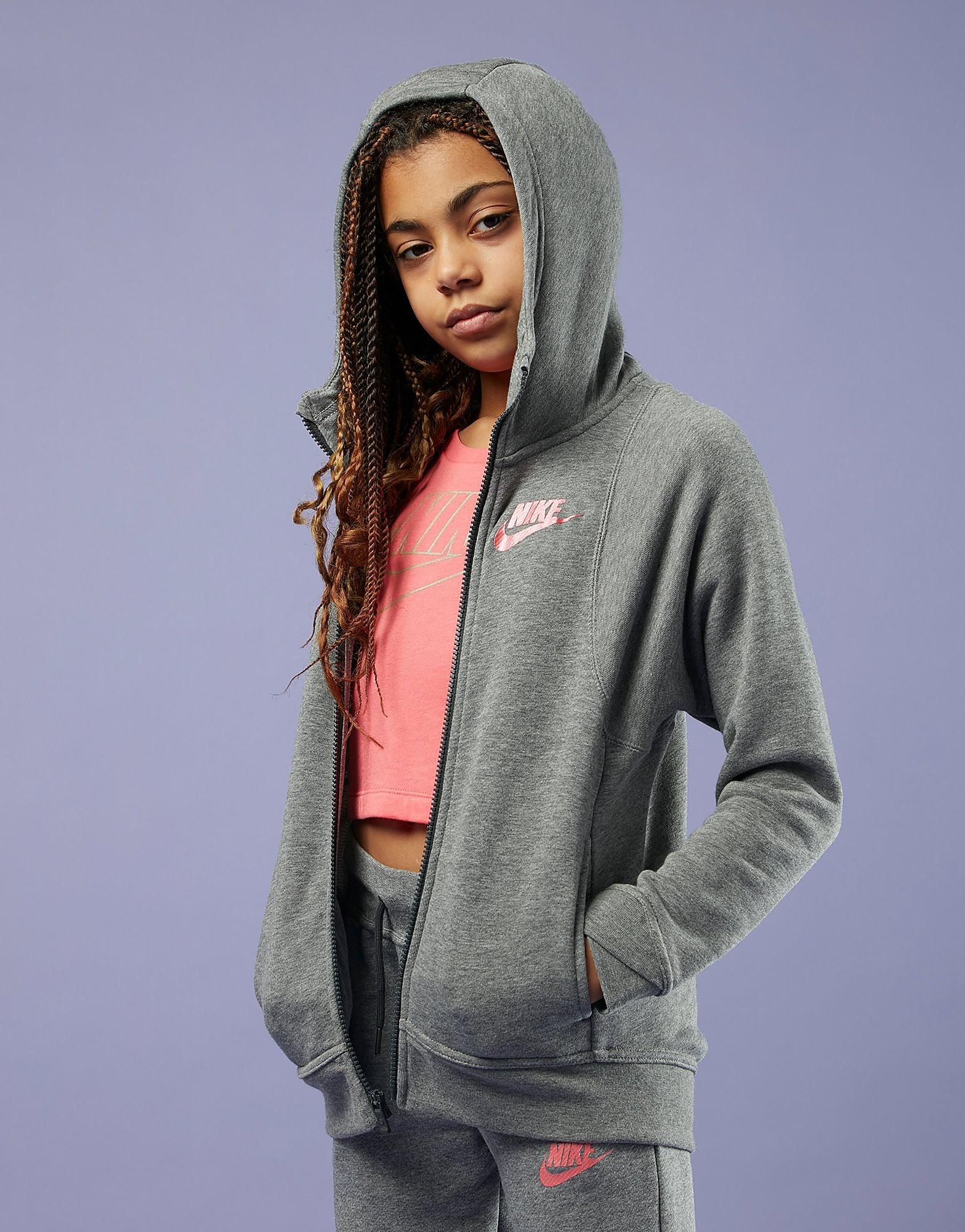 Nike Girls' Full Zip Hoodie Junior