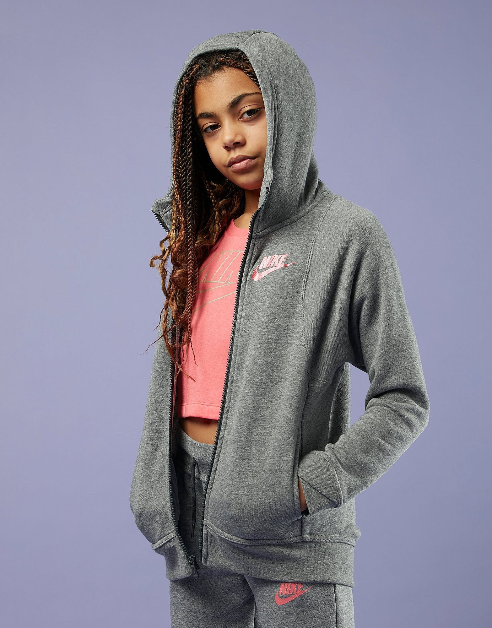 Nike chaqueta Girls' Full Zip júnior