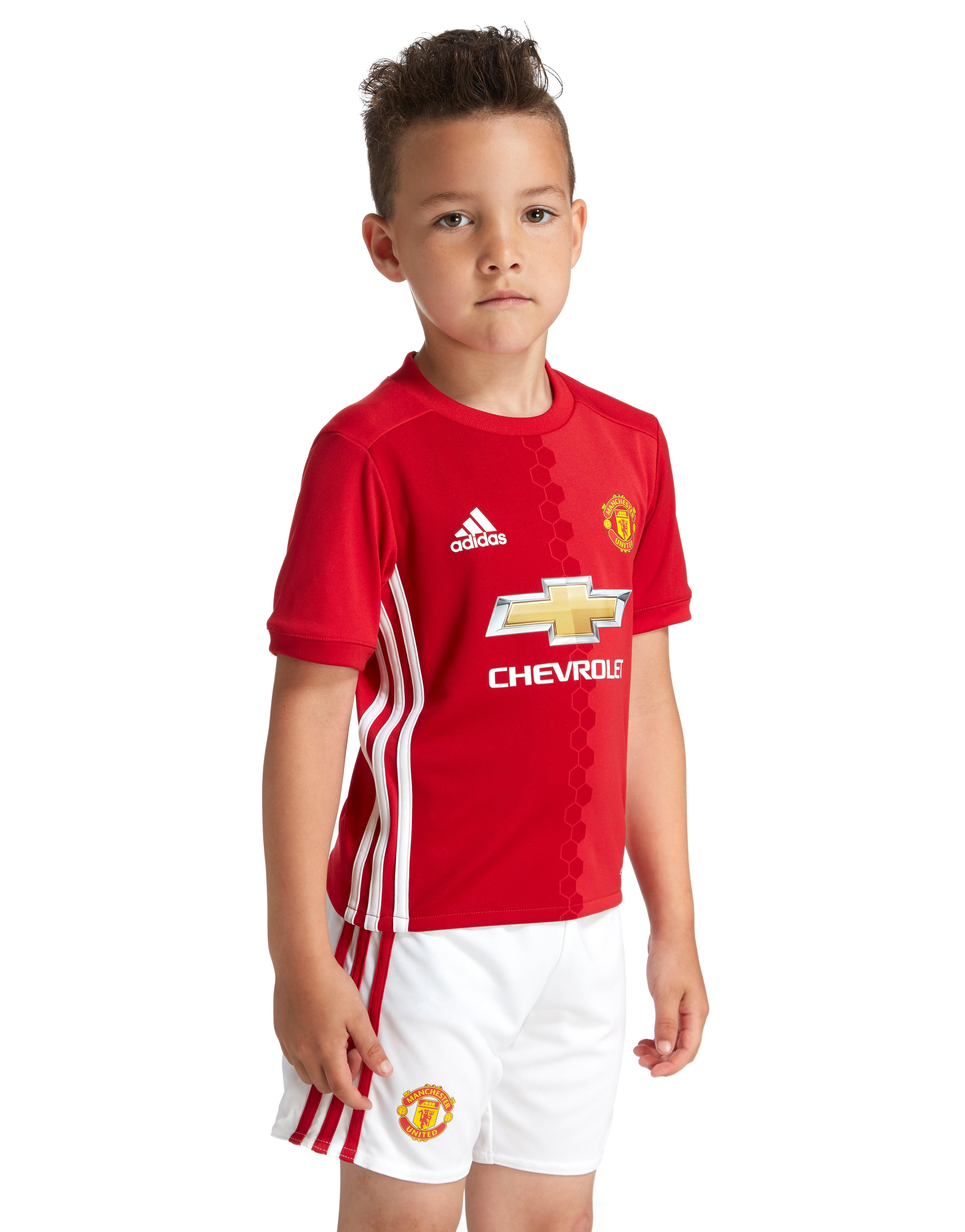 adidas Manchester United FC 2016/17 Home Kit Children