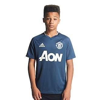 adidas Manchester United Training Jersey Junior