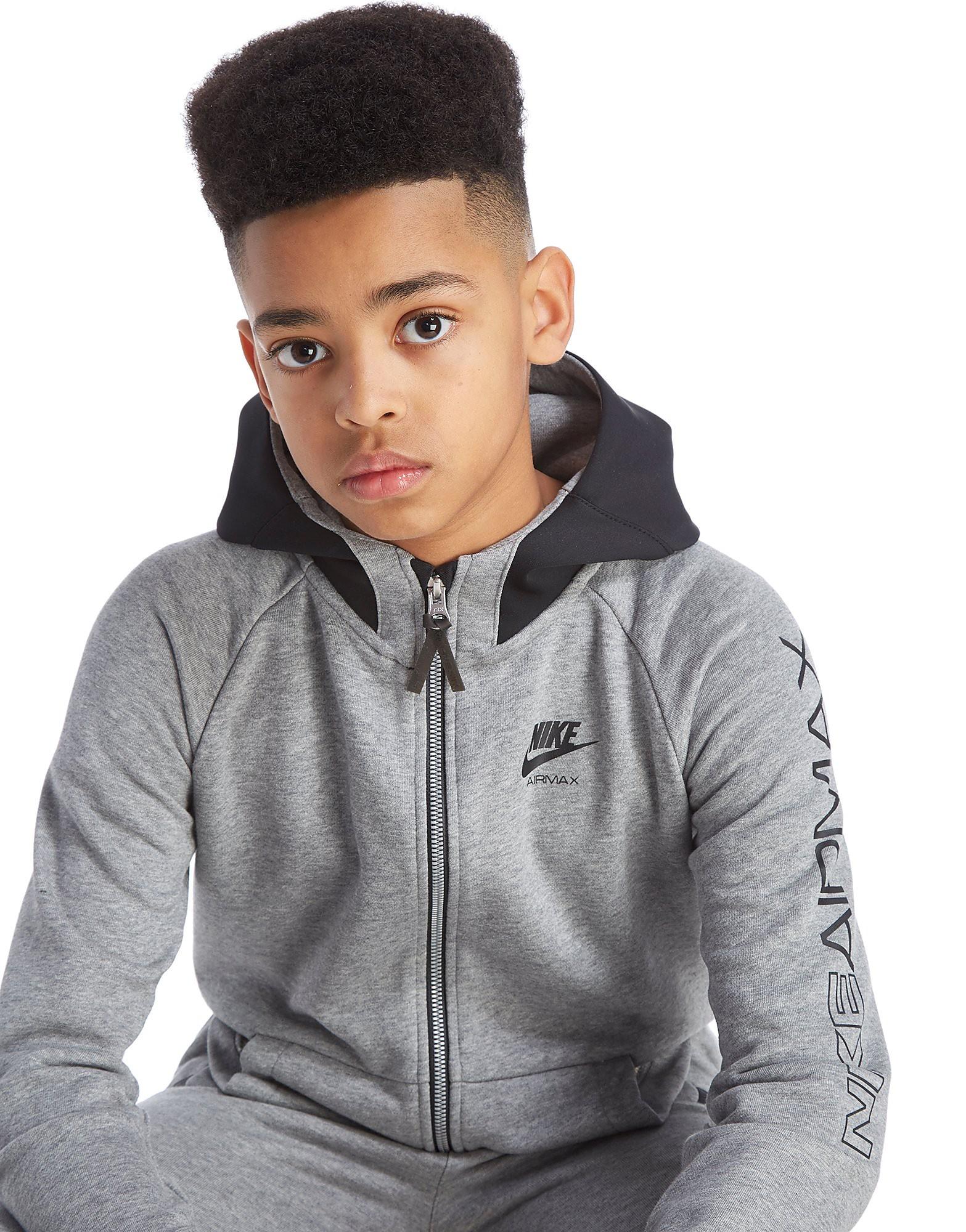 Nike Air Max Voller Reißverschluss Kapuzenpullover Junior