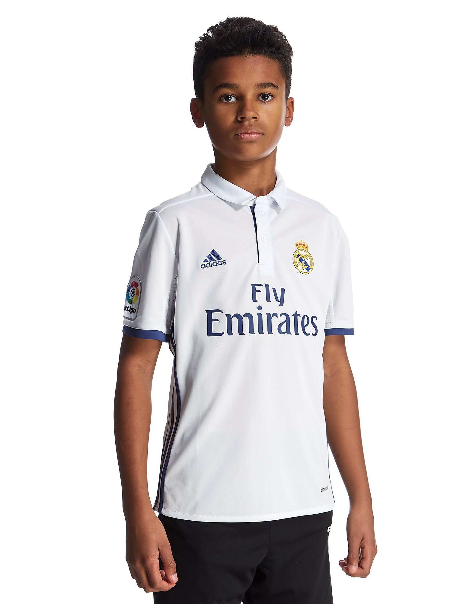 adidas Real Madrid 2016/17 Home Shirt Junior