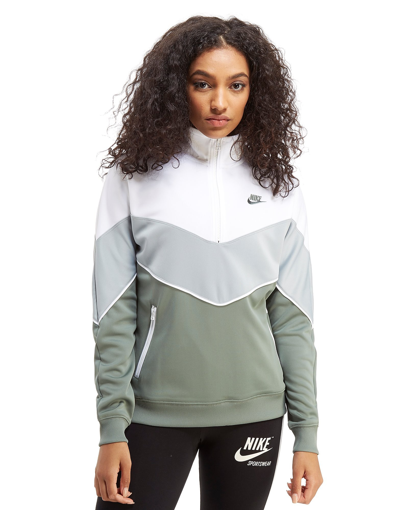 Nike Poly Knit 1/2 Zip Track Top
