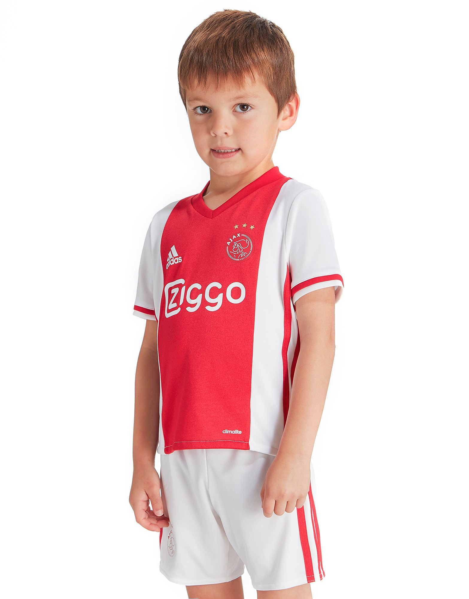 adidas Ajax 2016/17 Home Kit Children