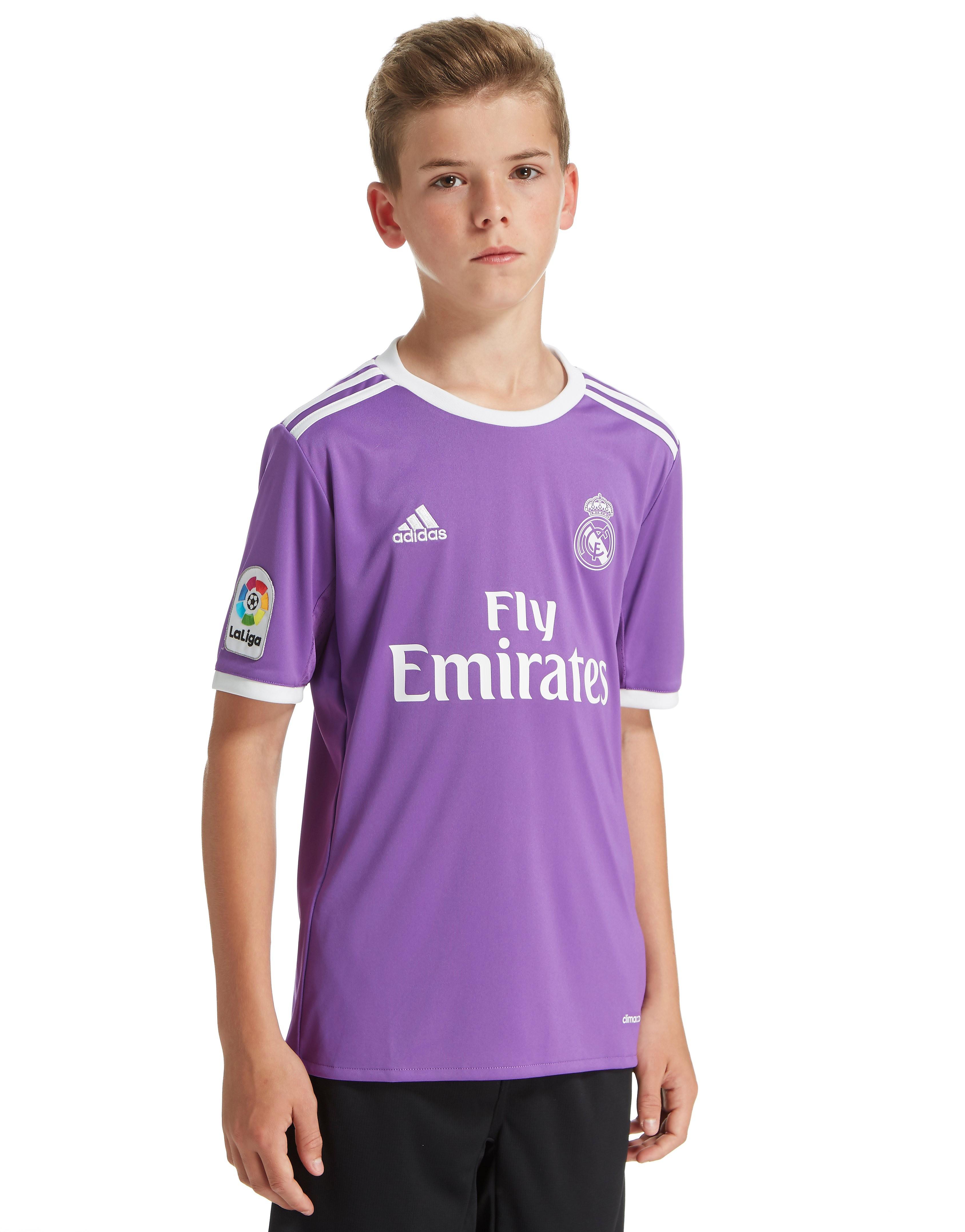 adidas Real Madrid 2016/17 Away Shirt Junior