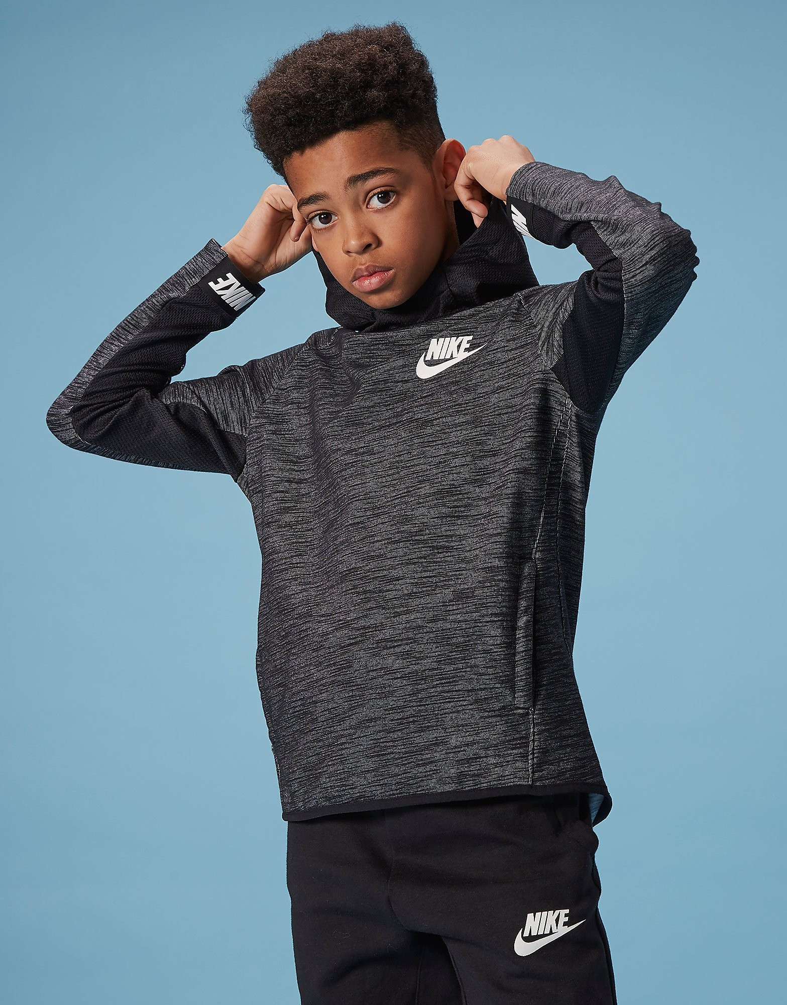 Nike Advance Overhead Hoodie Junior