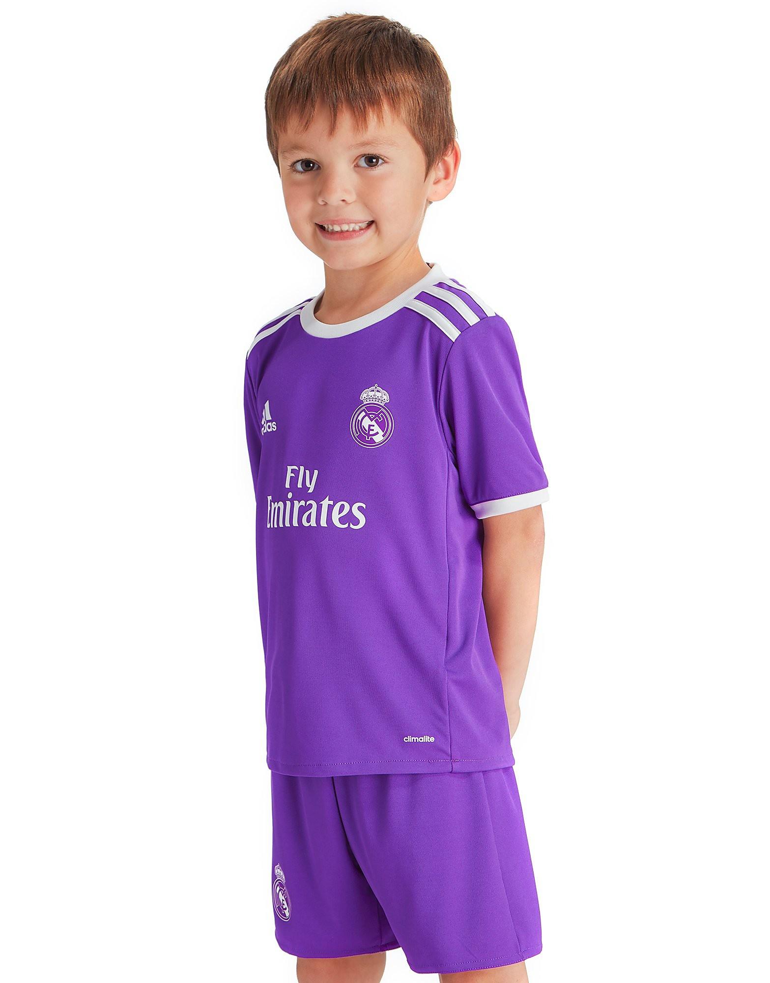 adidas Real Madrid 2016/17 Away Kit Children