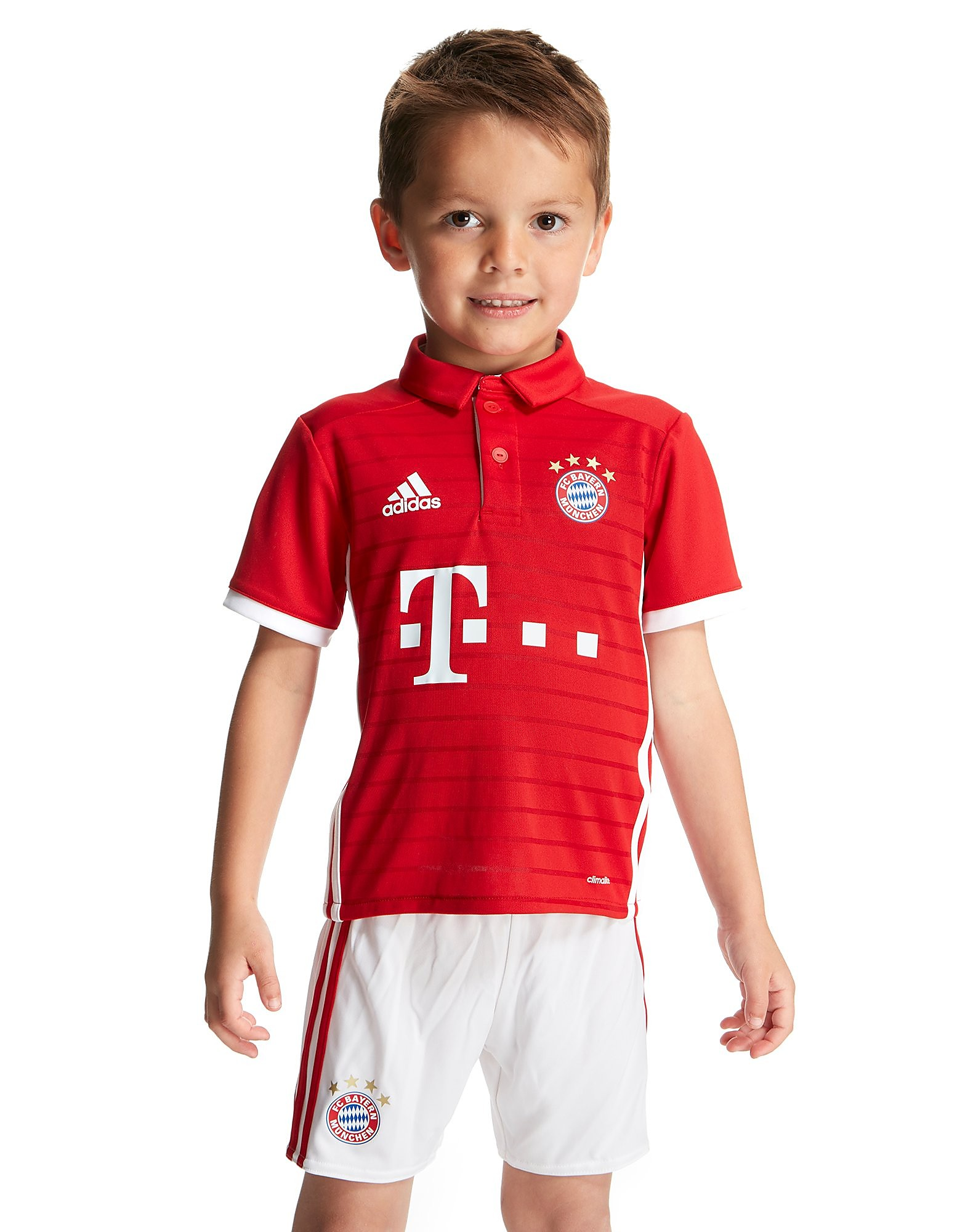 adidas FC Bayern Munich 2016/17 Home Kit Children