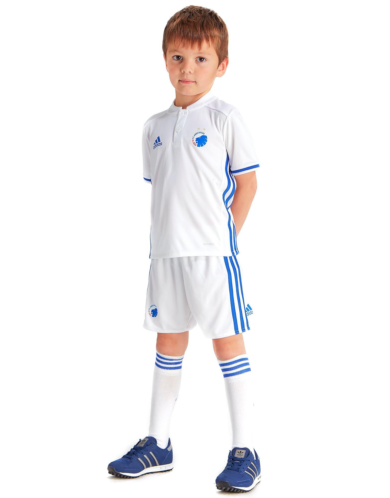 adidas FC Copenhagen 2016/17-thuisuniform voor kinderen