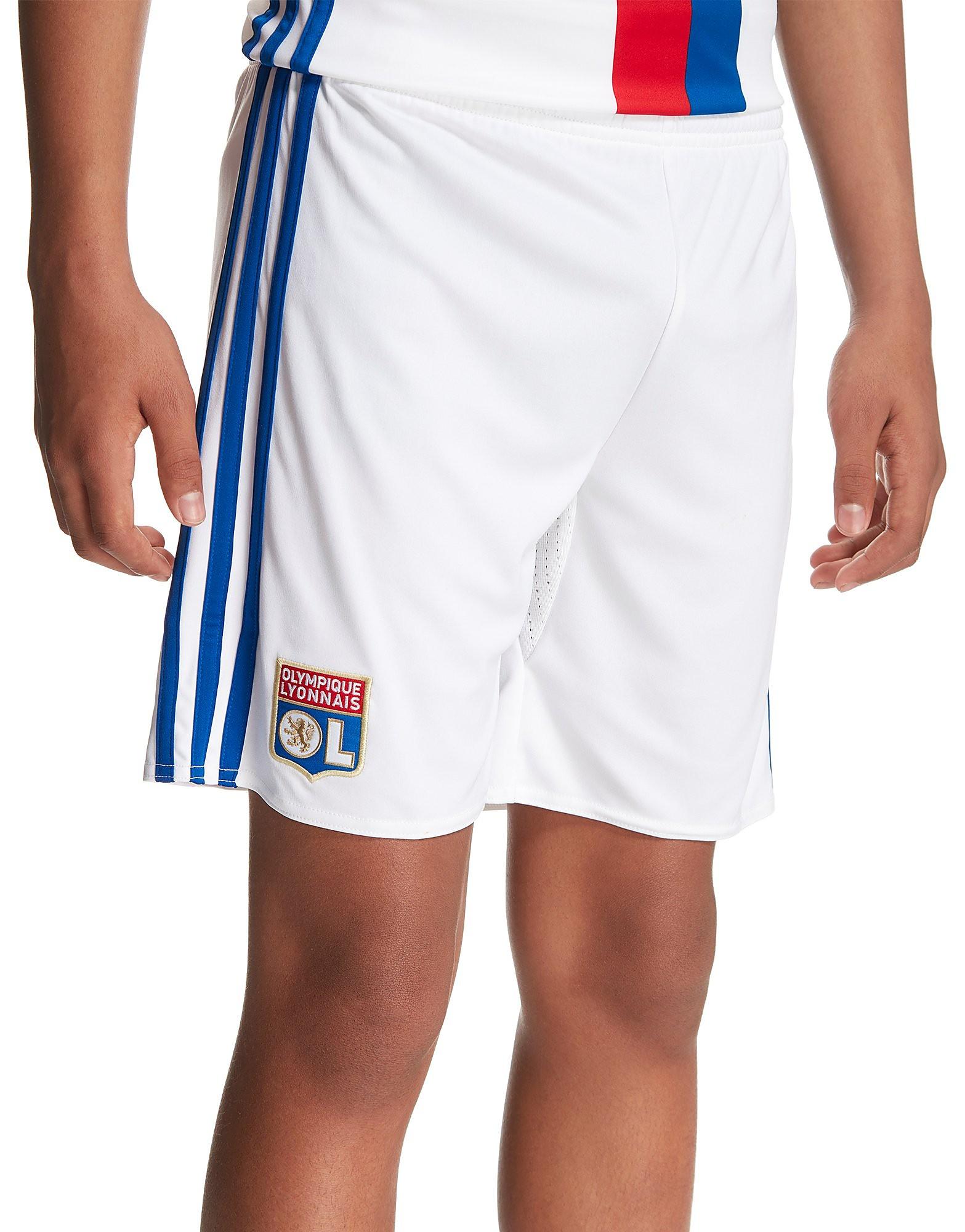 adidas Pantalón corto de la 1.ª equipación del Olympique Lyon 2016/17 para niños