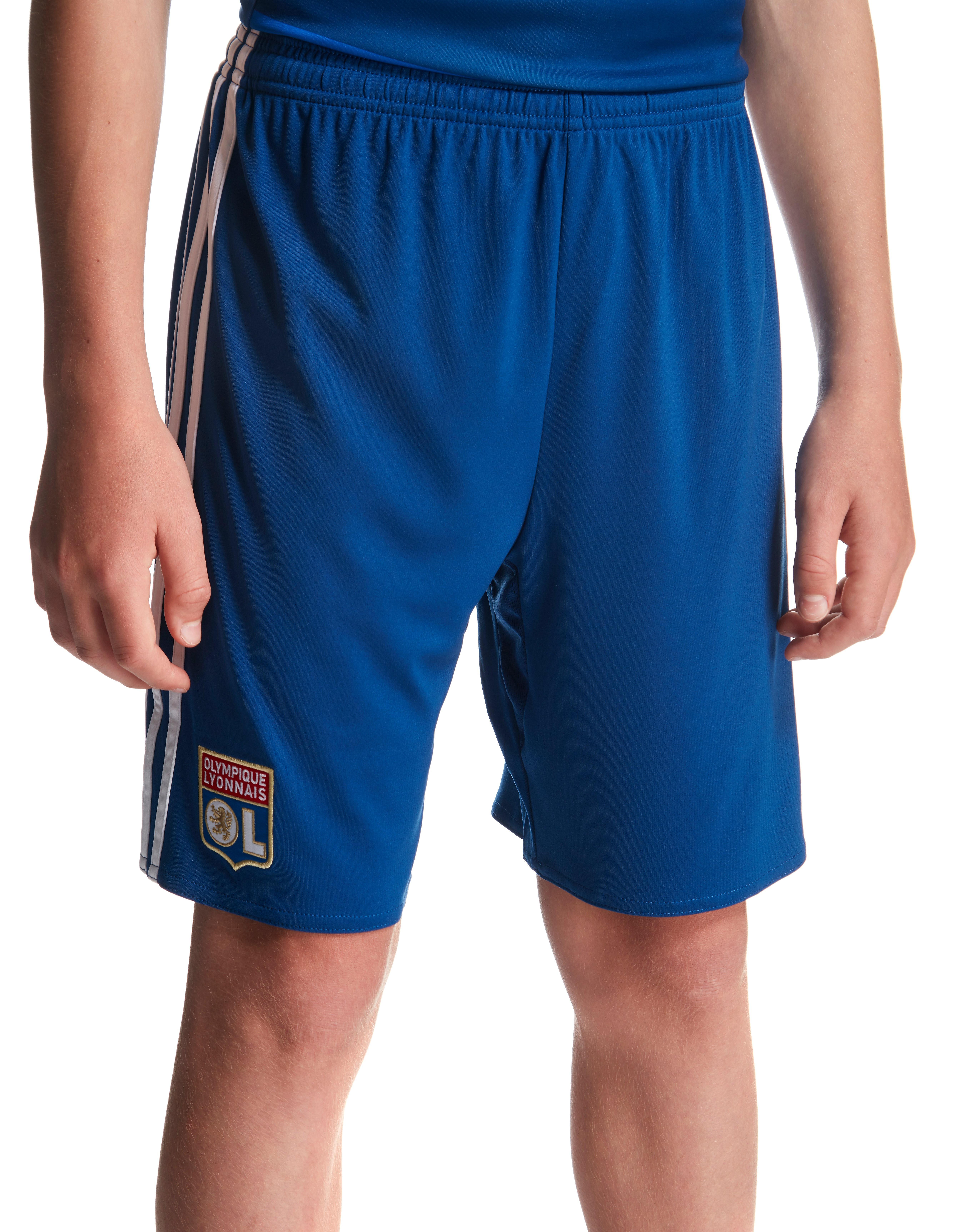 adidas Olympique Lyon 2016/17 Away Shorts Junior