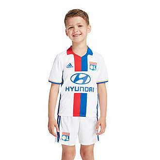 adidas Olympique Lyon 2016/17 Home Kit Children