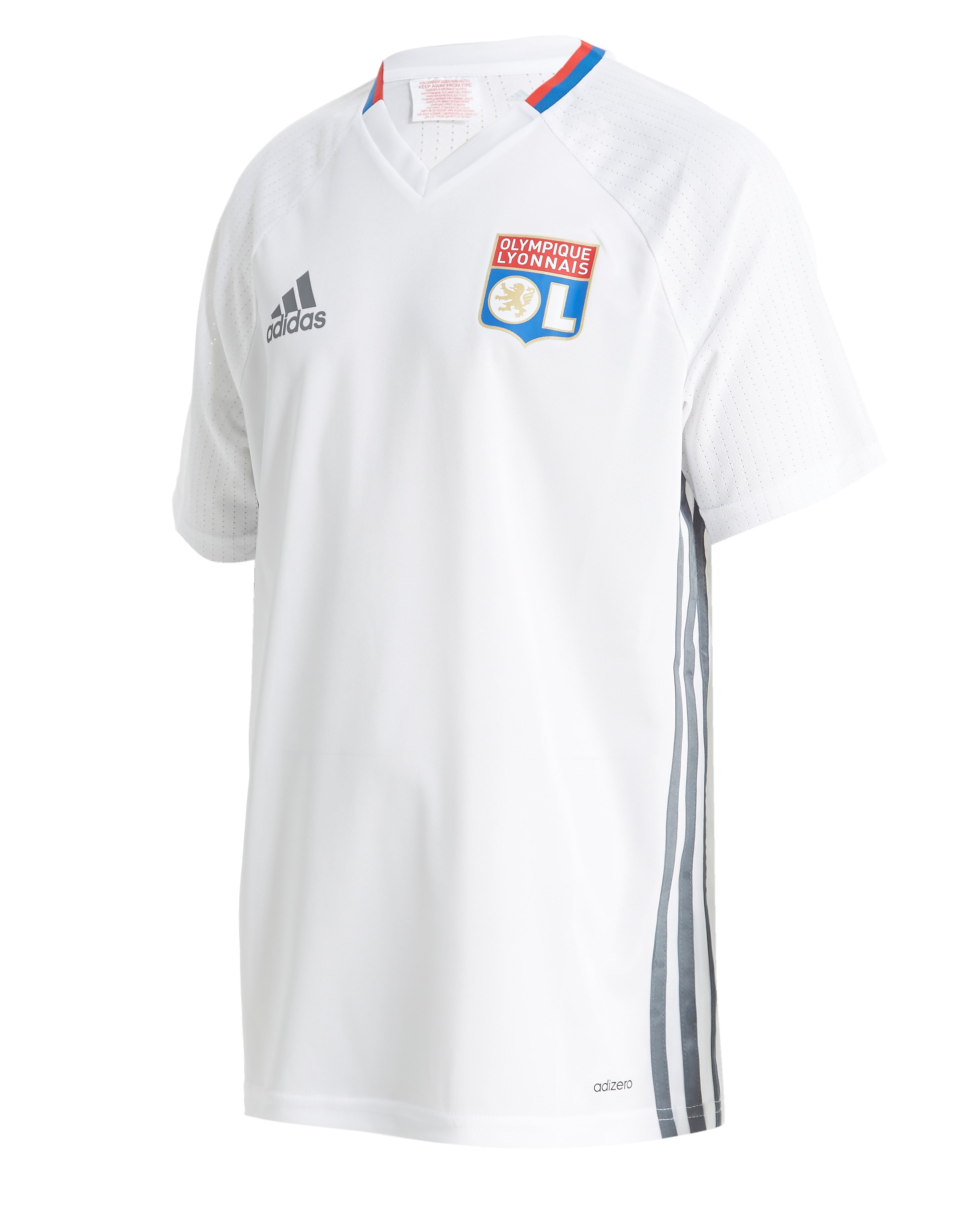 adidas Olympique Lyon 2016/17 Training Shirt Junior