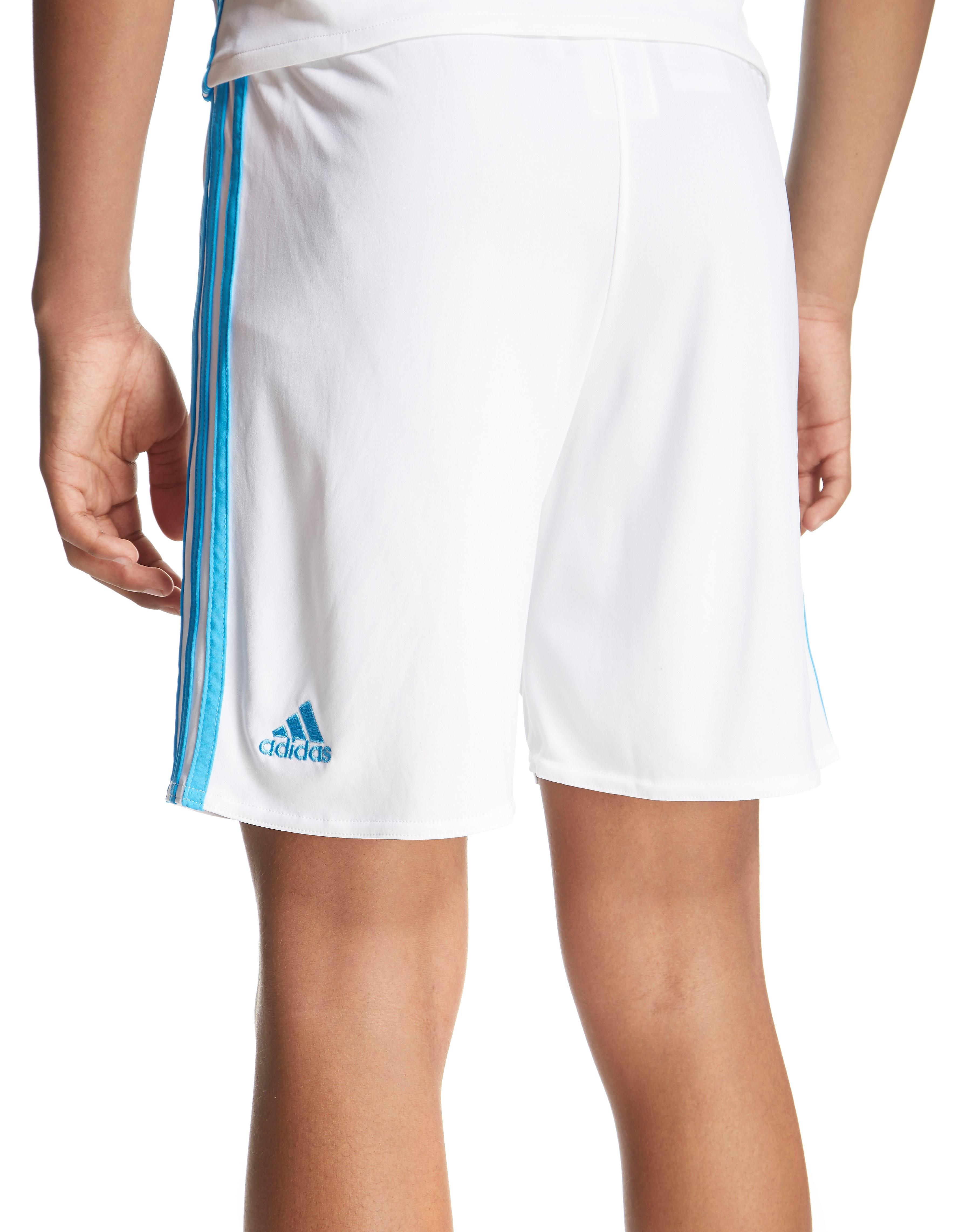 adidas Olympique Marseille 2016/17 Home Shorts Junior