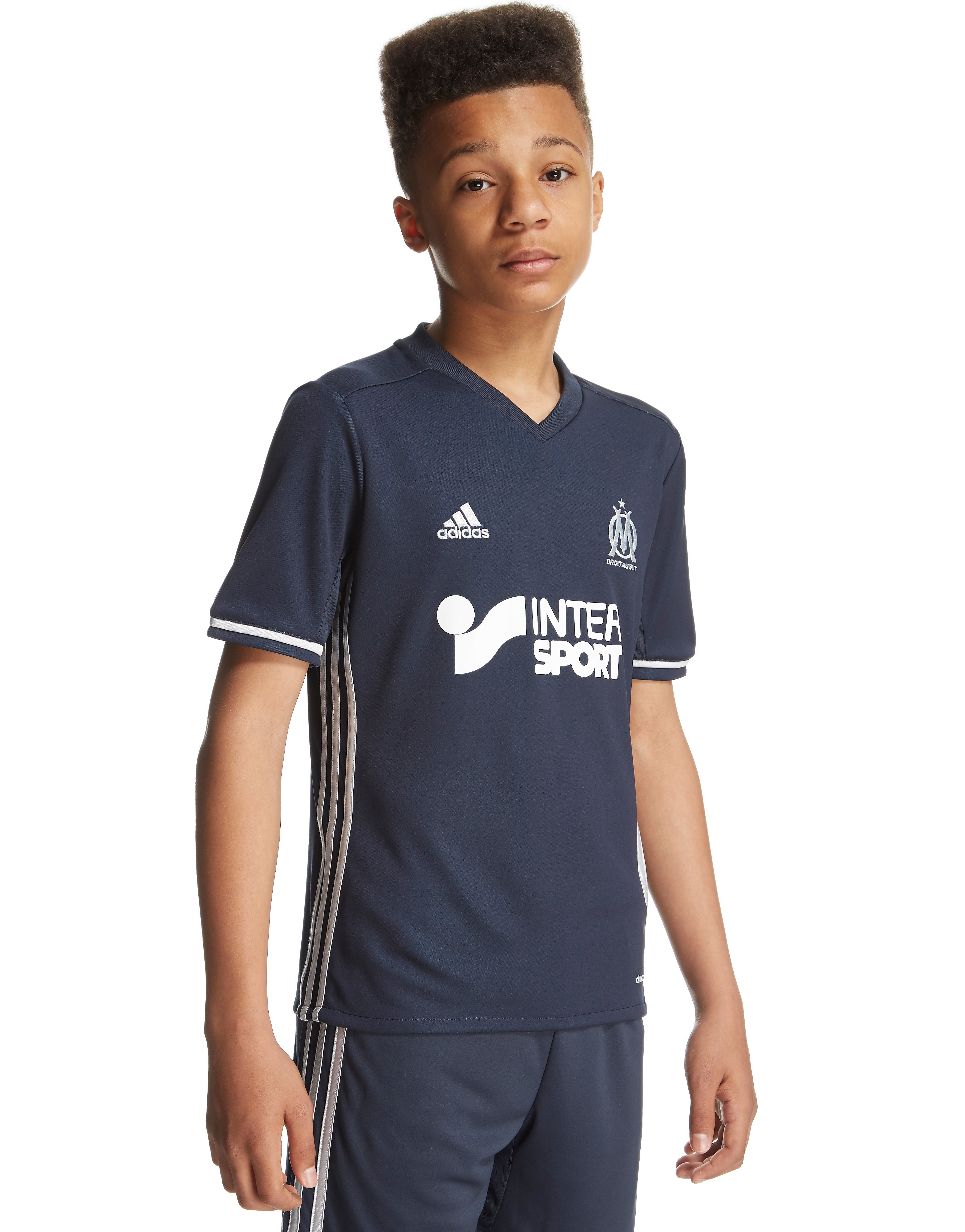 adidas Olympique Marseille 2016/17 Away Shirt Junior