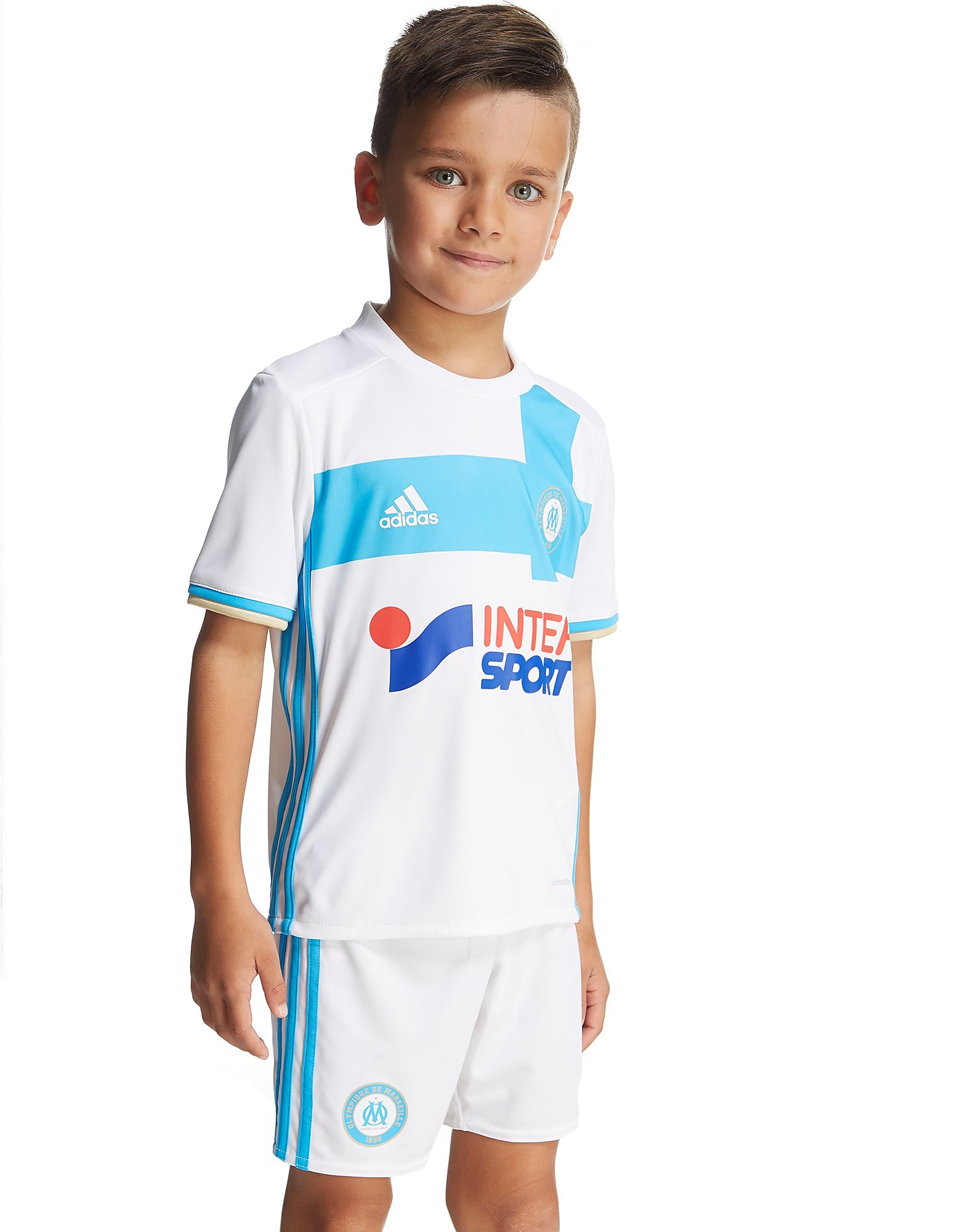 adidas Olympique Marseille 2016/7-thuistenue voor kinderen