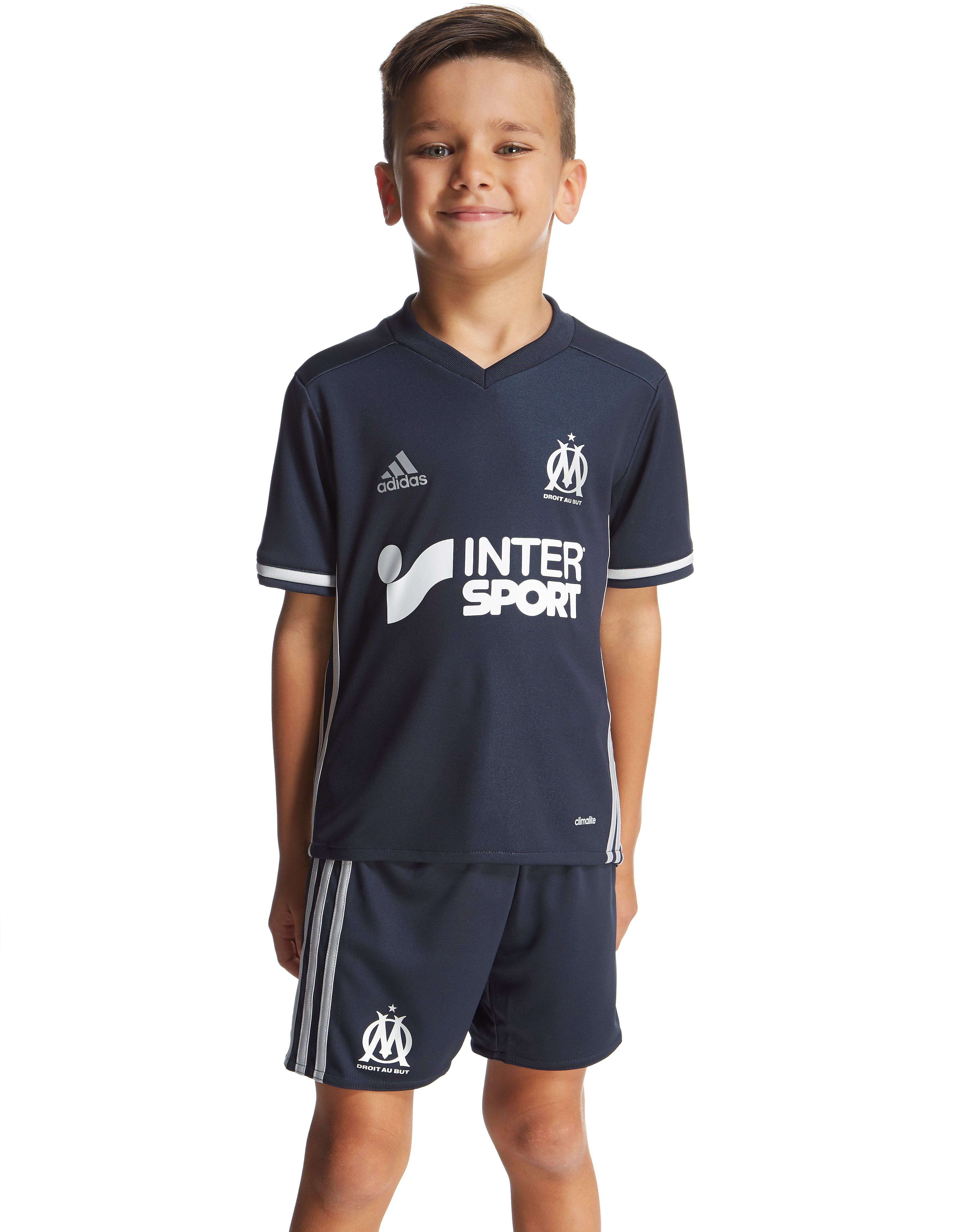 adidas Olympique de Marseille Away 2016 Kit Children