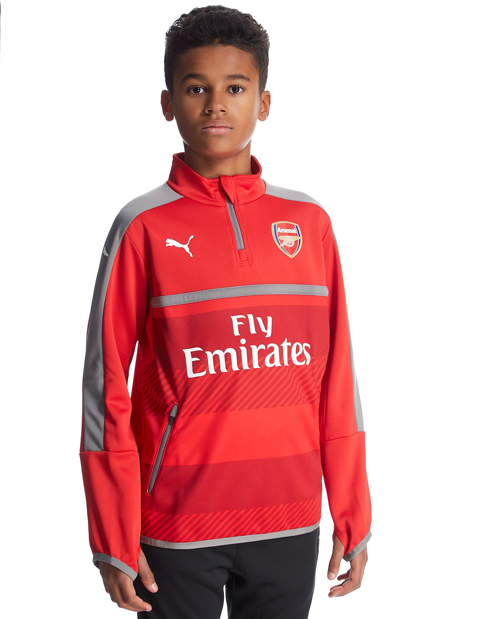 PUMA Arsenal FC 2016/17 Quarter Zip Training Top Junior