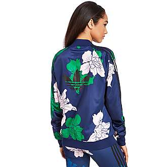 adidas Originals Floral Engraving Superstar Track Top
