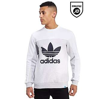 adidas Originals Trefoil Panel Sweatshirt