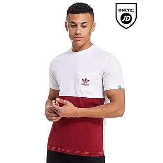 adidas Originals Trefoil Panel Pocket T-Shirt