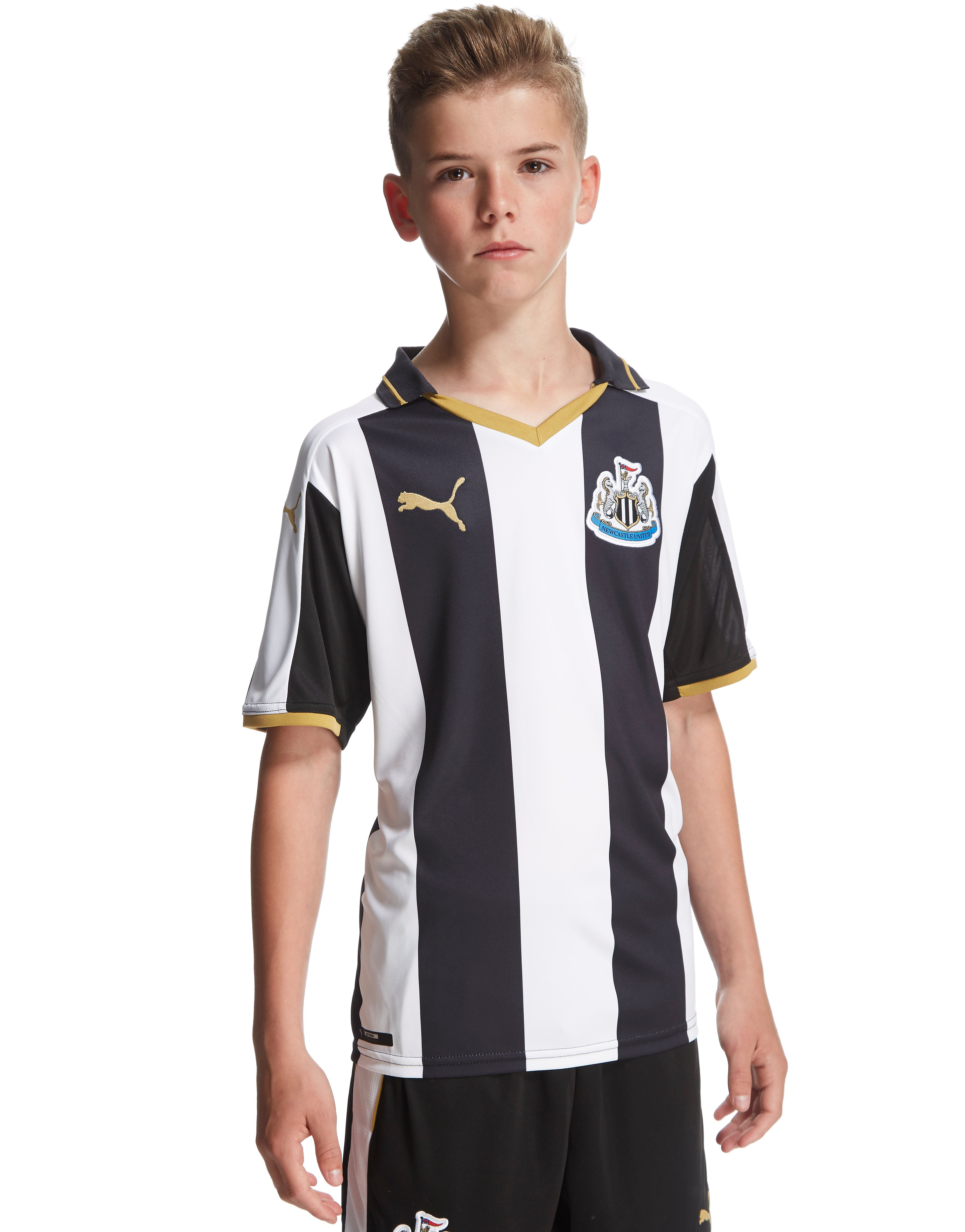 PUMA Newcastle United FC 2016/17 Home Shirt Junior