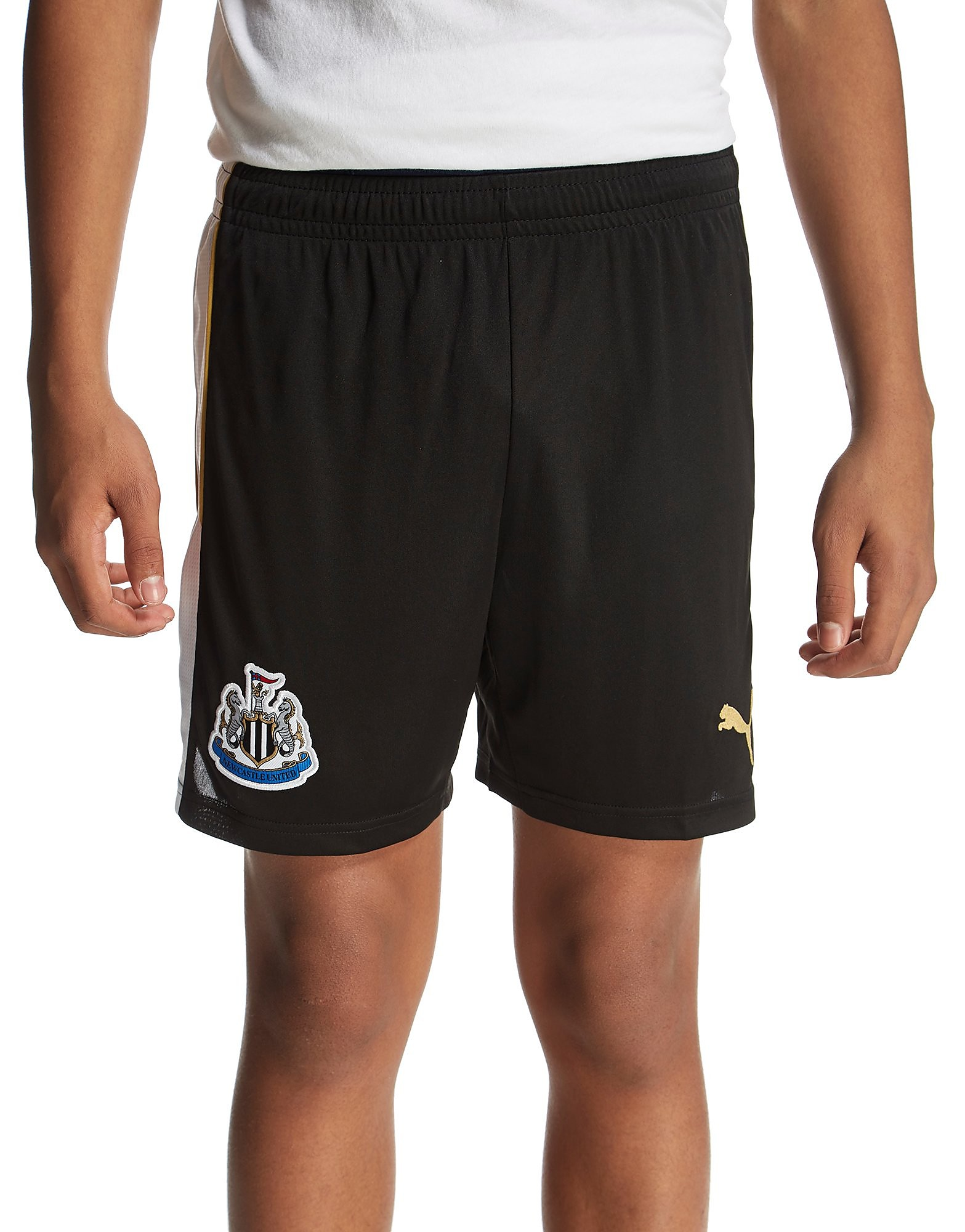 PUMA Newcastle United FC 2016/17 Home Shorts Jnrr