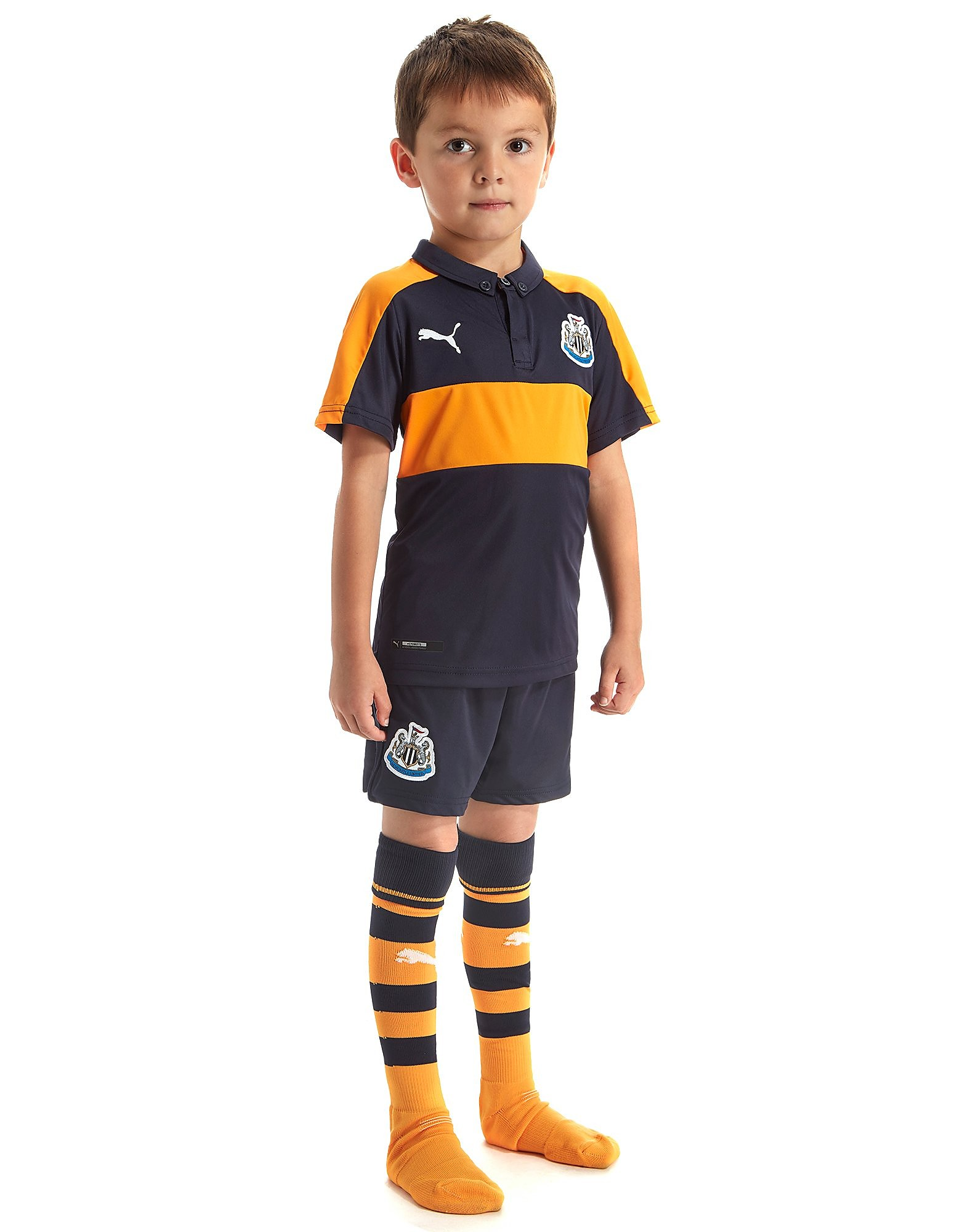 PUMA Newcastle United 2016/17 Away Kit Children