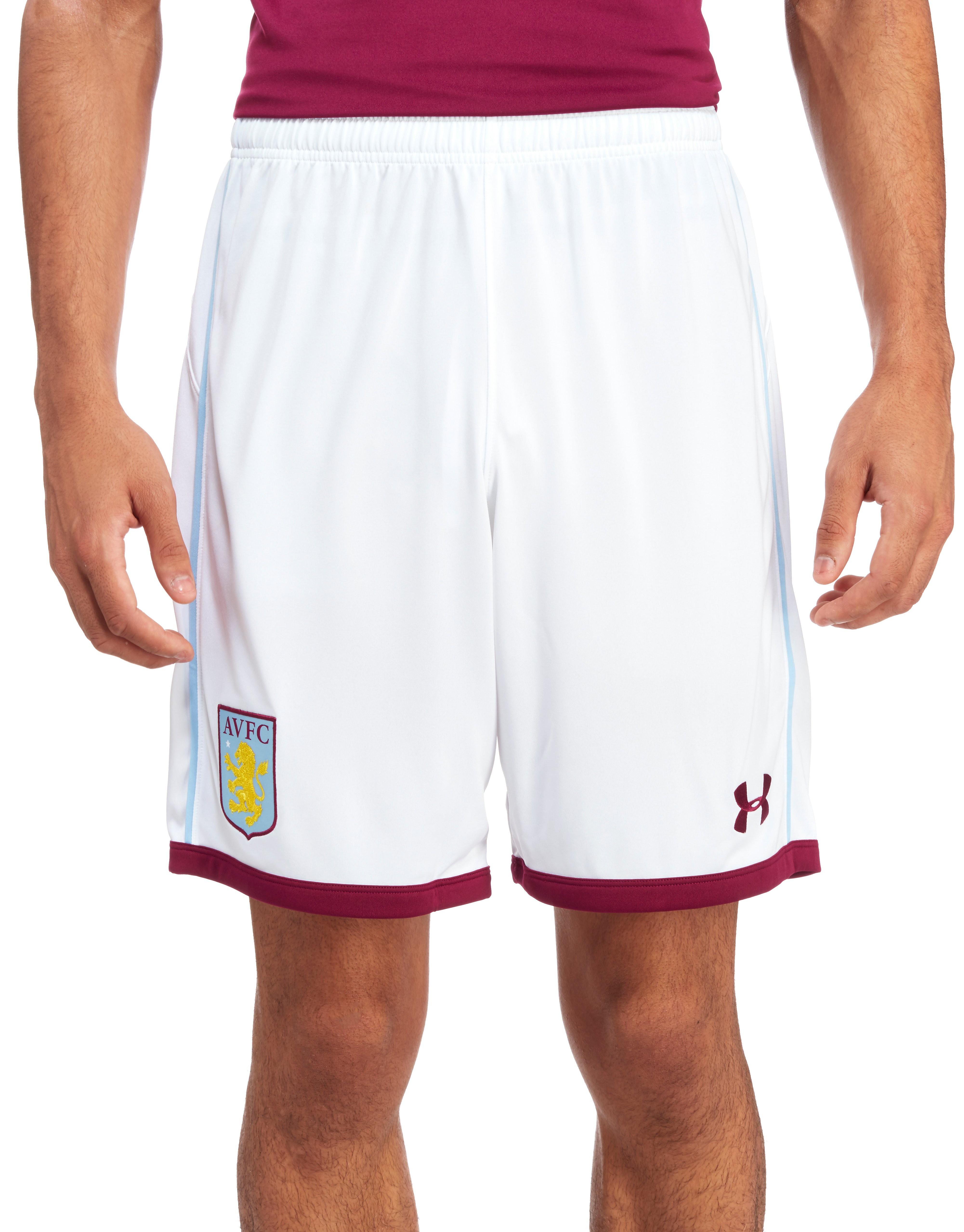 Under Armour Aston Villa FC 2016/17 Home Shorts