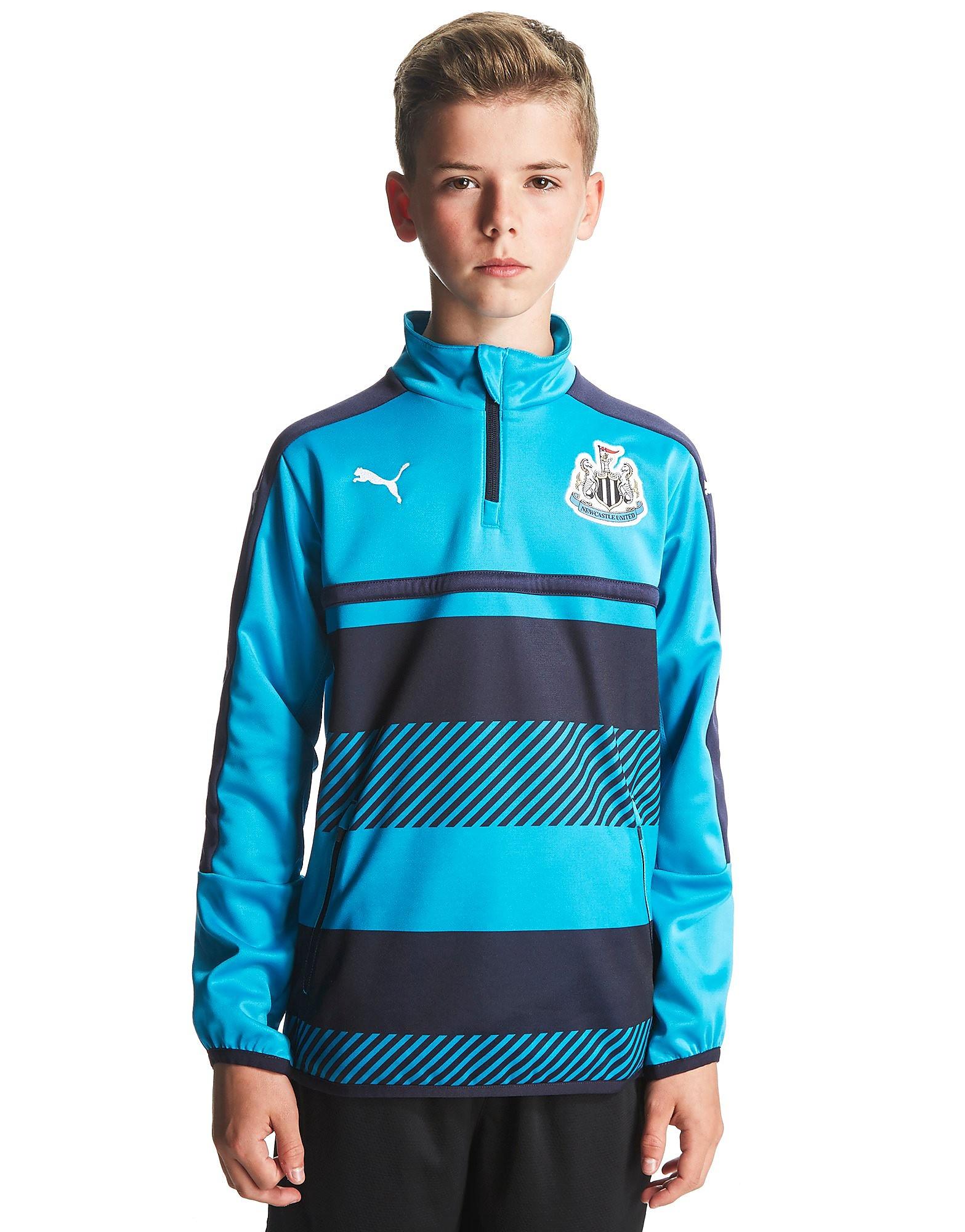 PUMA Newcastle United FC Quarter Zip Training Top Jnr