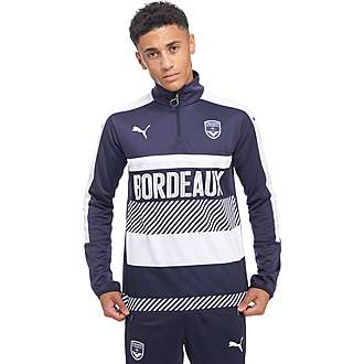 PUMA Bordeaux 2016/17 Quarter Zip Training Top