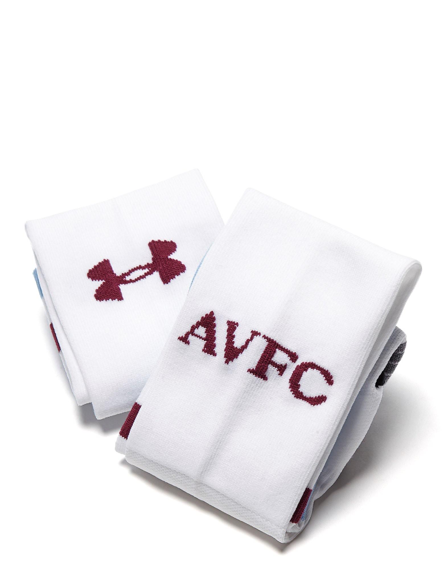 Under Armour Aston Villa FC 2016/17 Away Socks