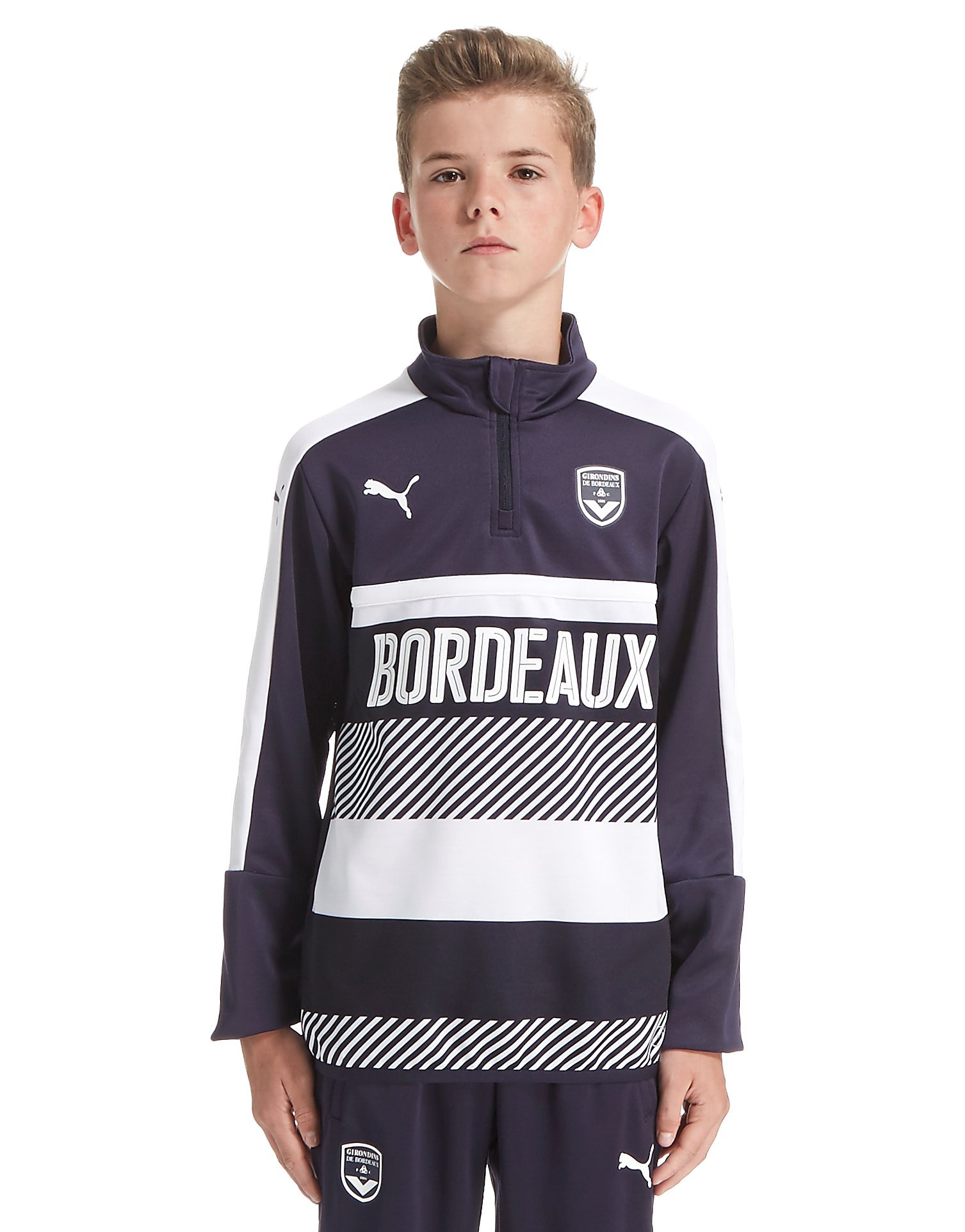 PUMA Bordeaux 2016/17 Quarter Zip Trainingsshirt Junior